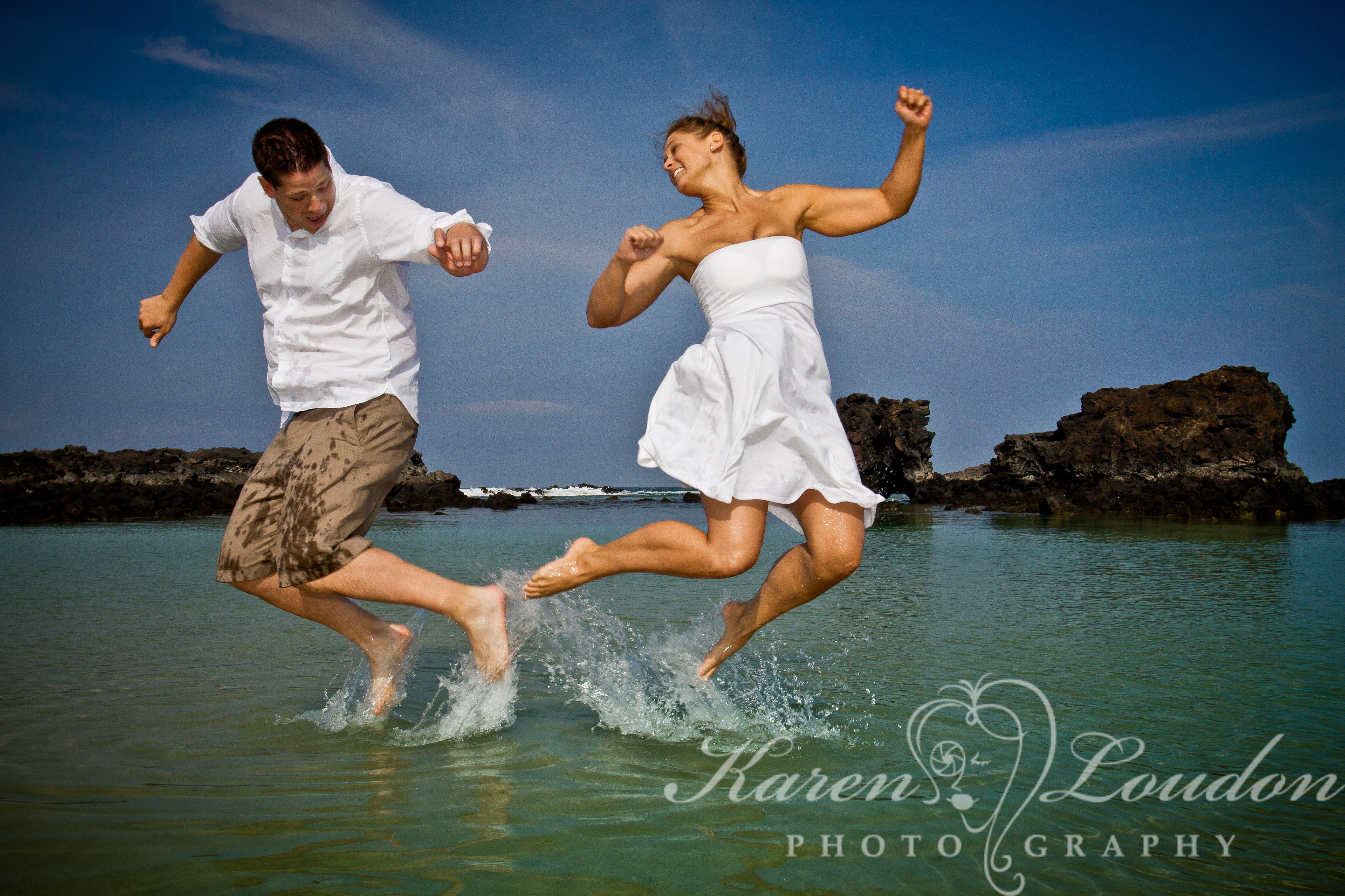 Caroline And Scott Kikaua Point Beach Park Big Island