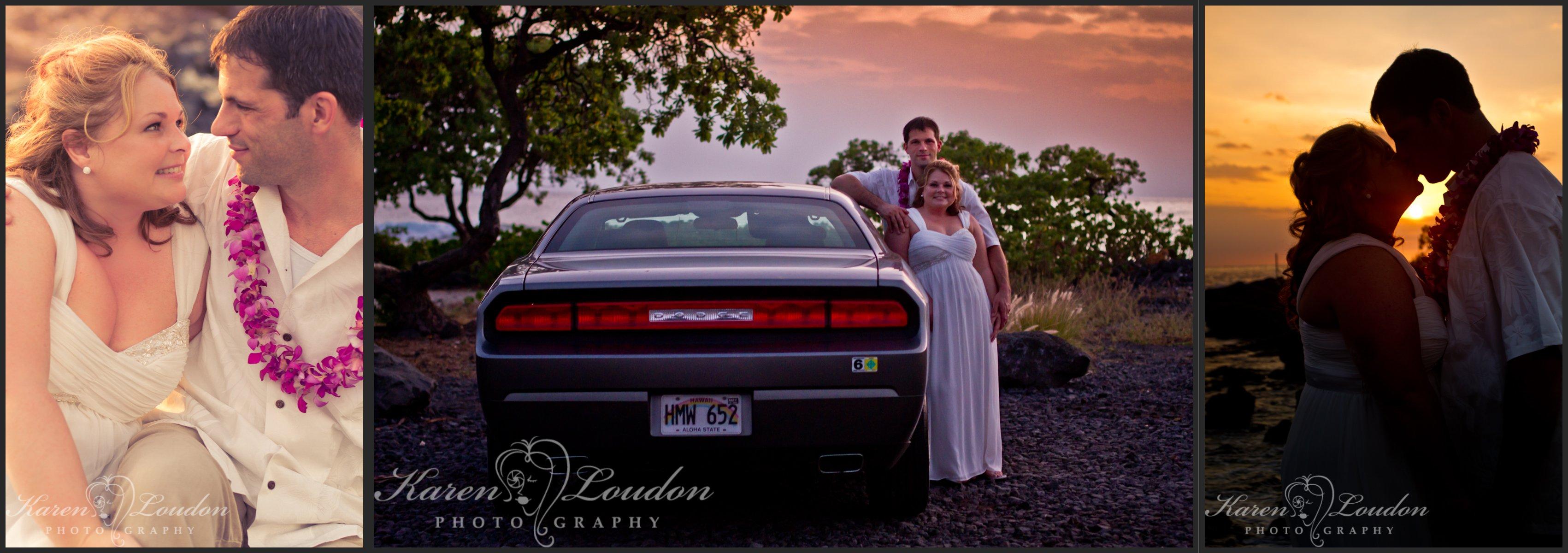 Jodie and Brian, Kailua-Kona, Big Island Hawaii