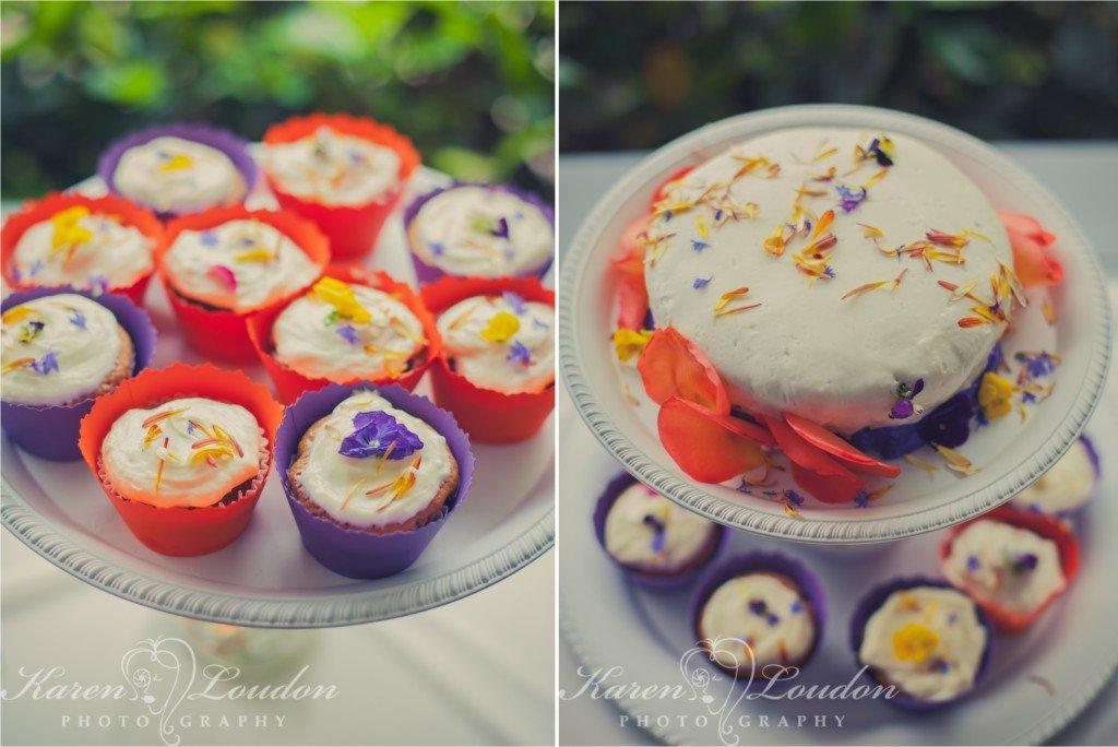 Kona wedding cake