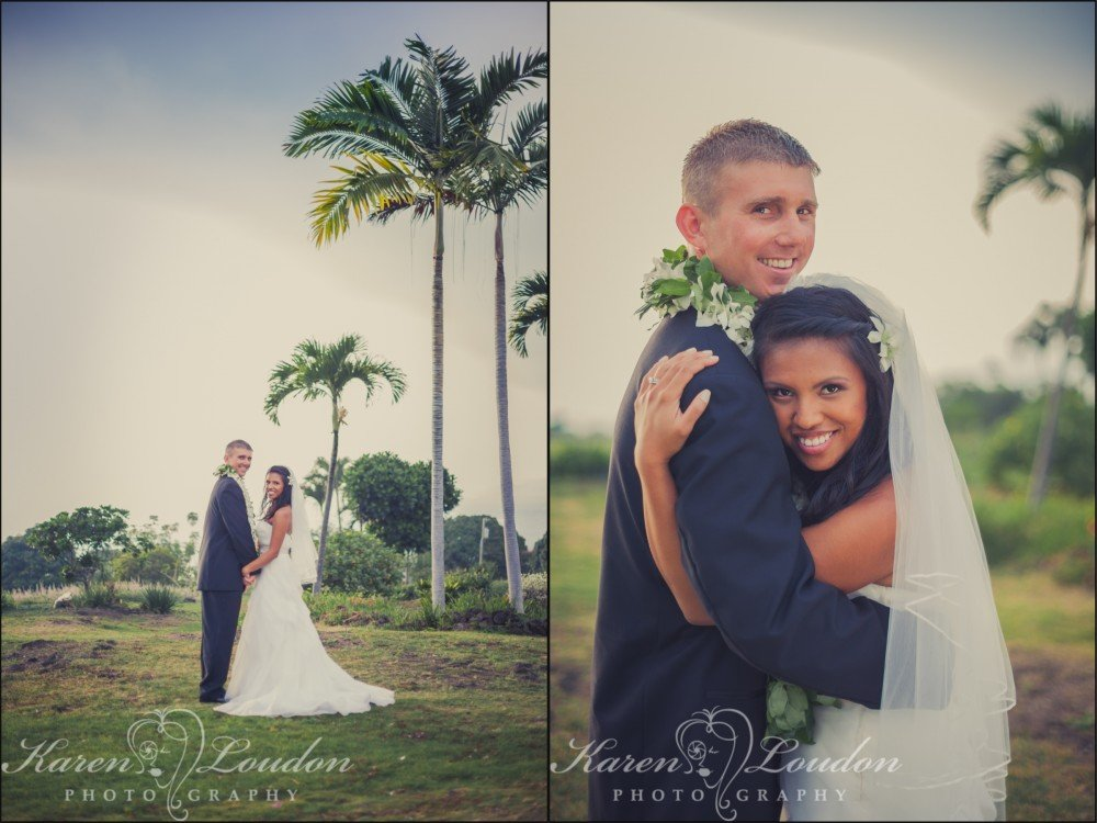 Holualoa wedding portraits