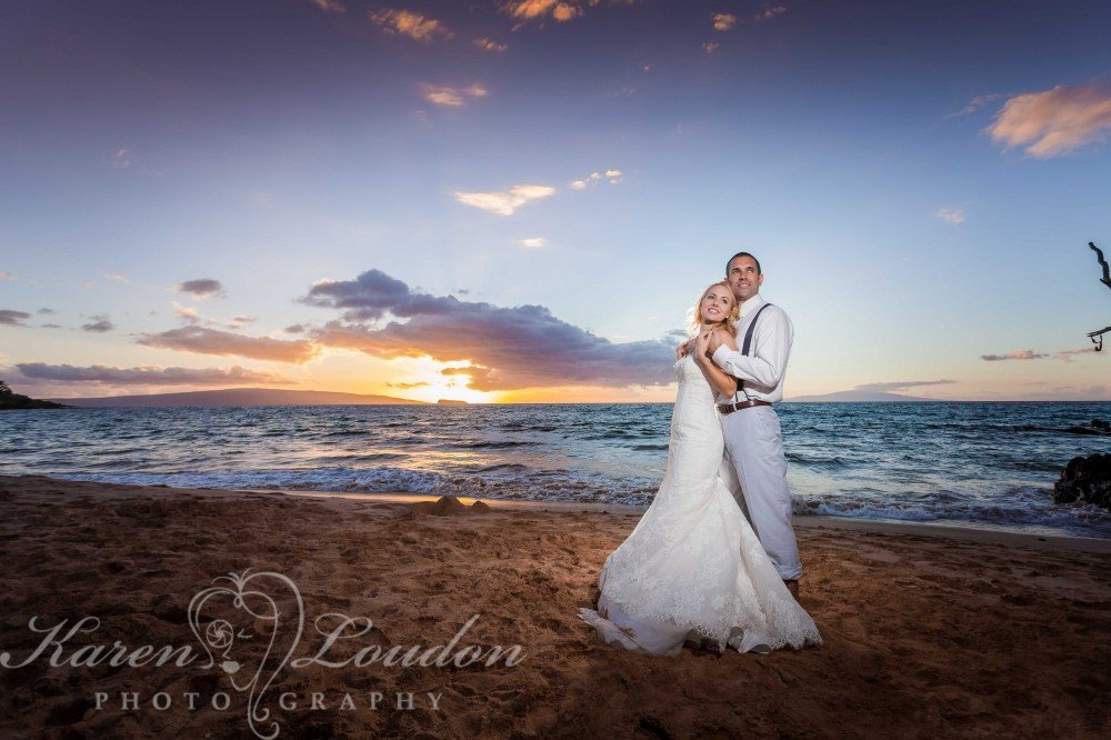 Maui Wedding photos © Karen Loudon photography