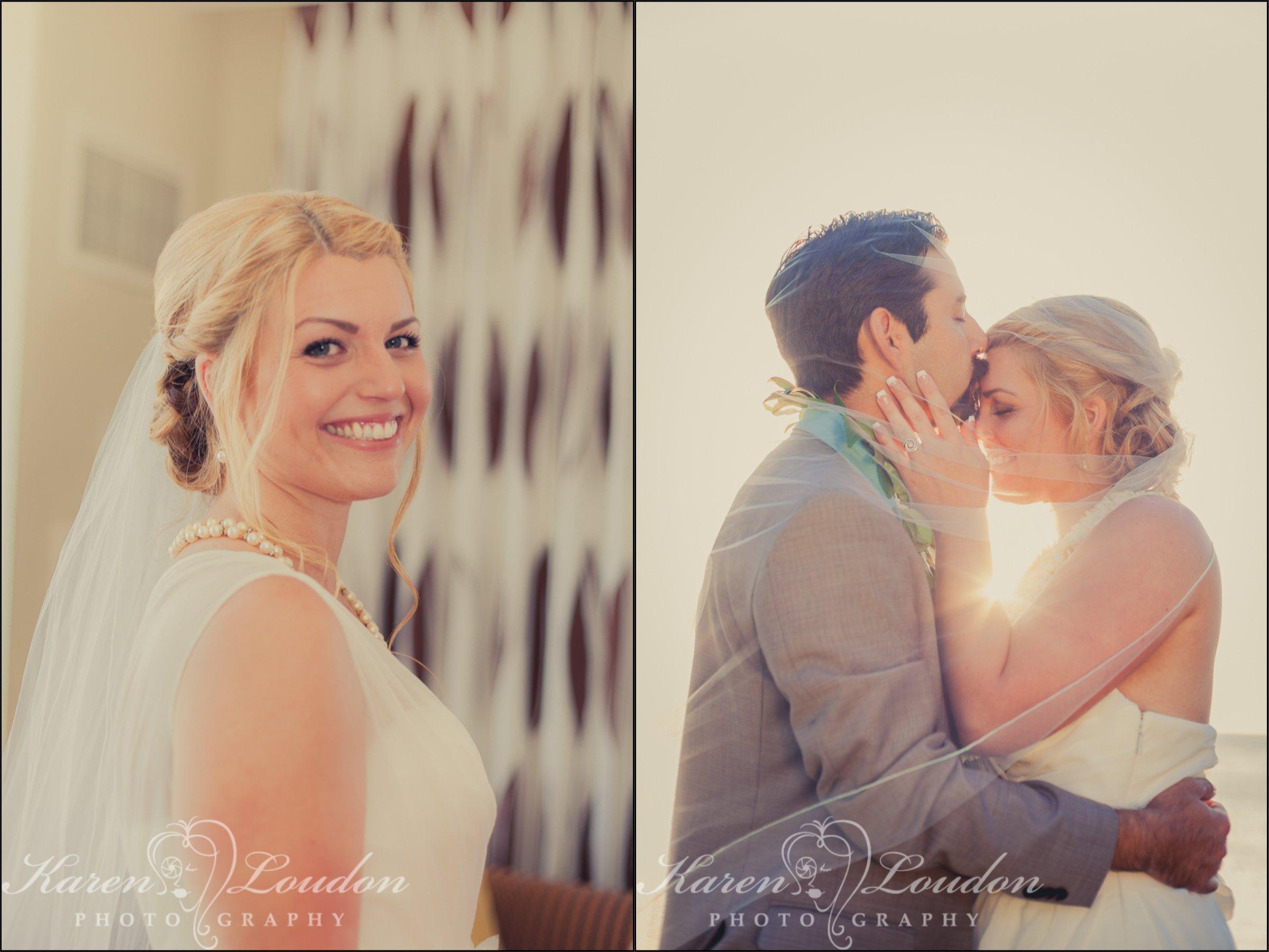 Hilton Waikoloa bride