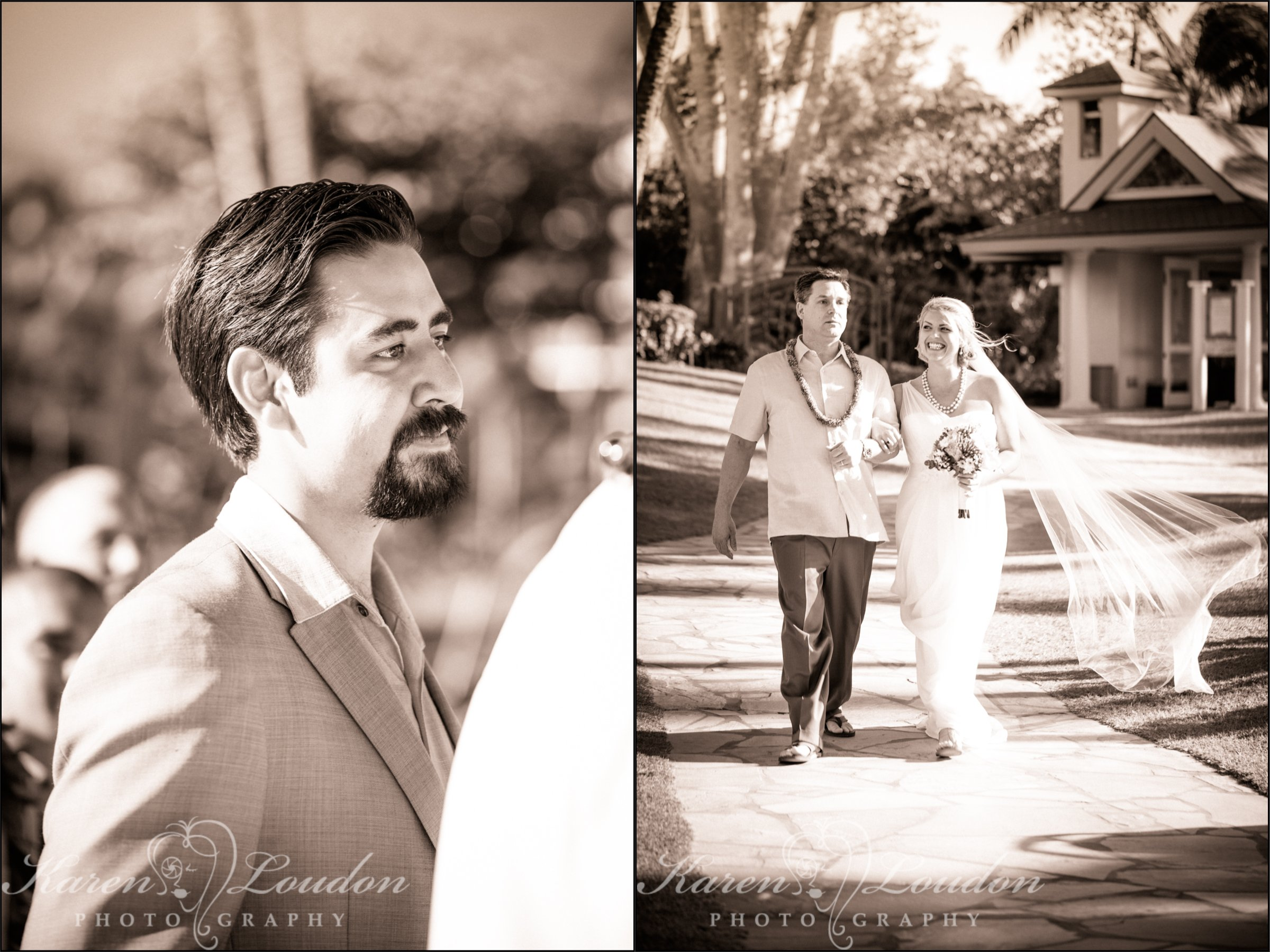 Waikoloa wedding photo