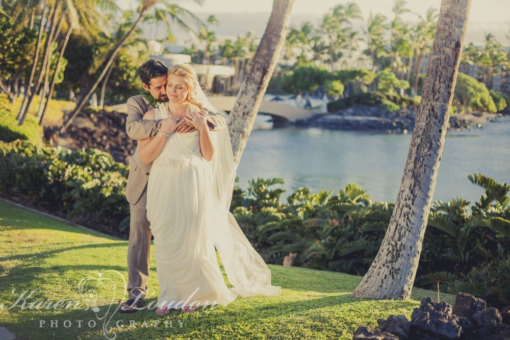 Hilton Waikoloa wedding photo