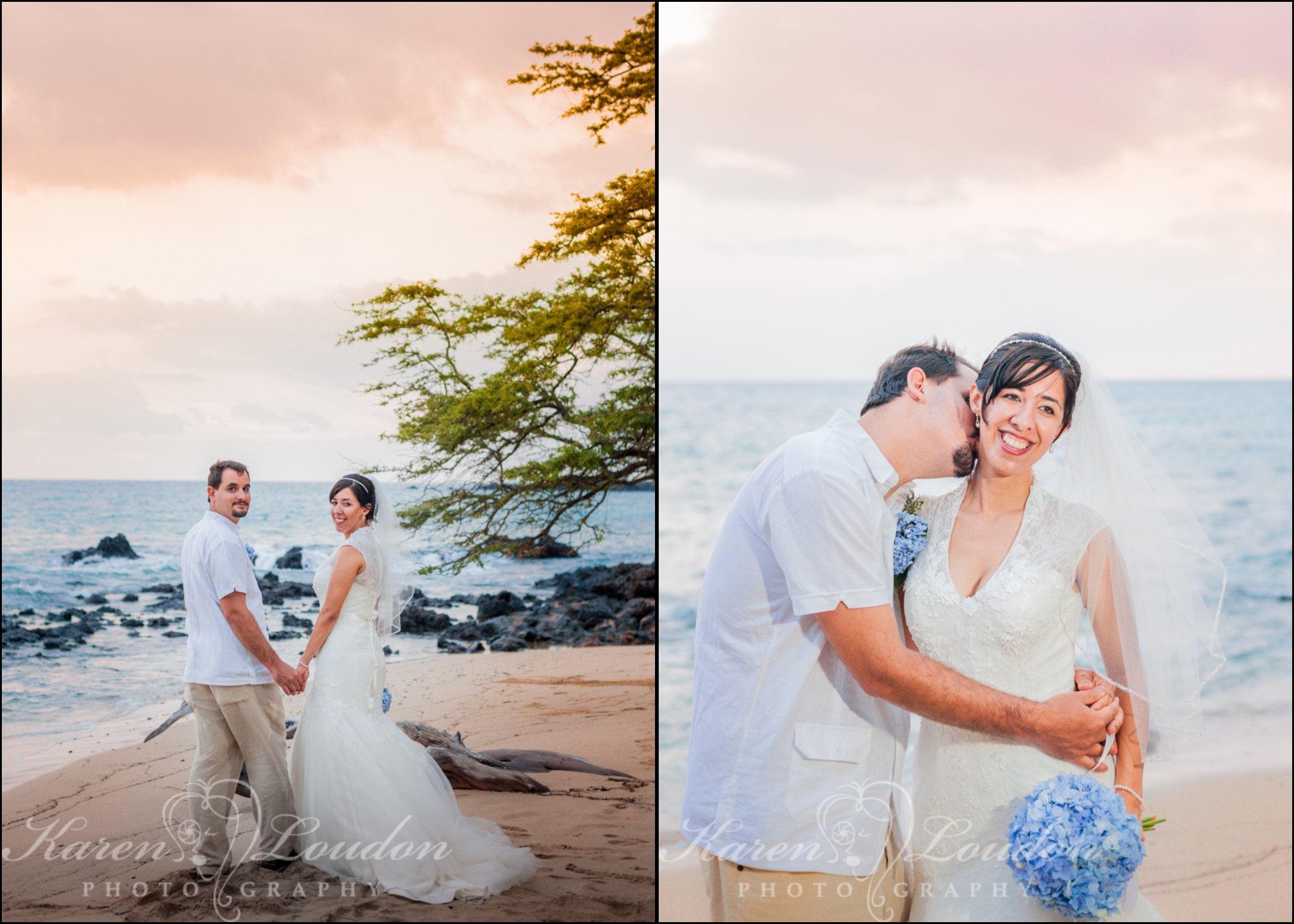 Big Island Hawaii beach wedding