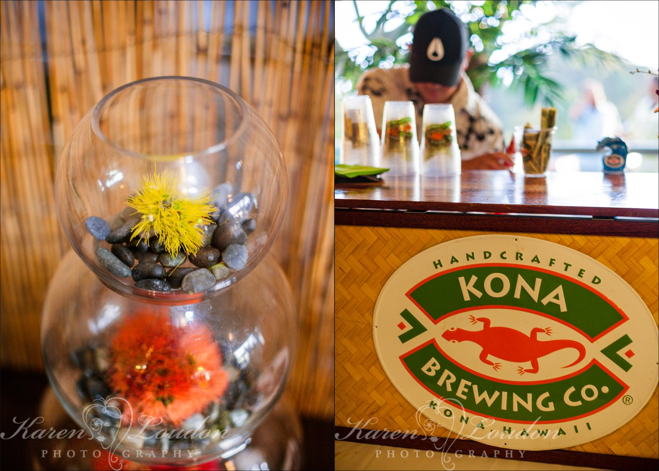 Kailua Kona wedding reception Hawaii
