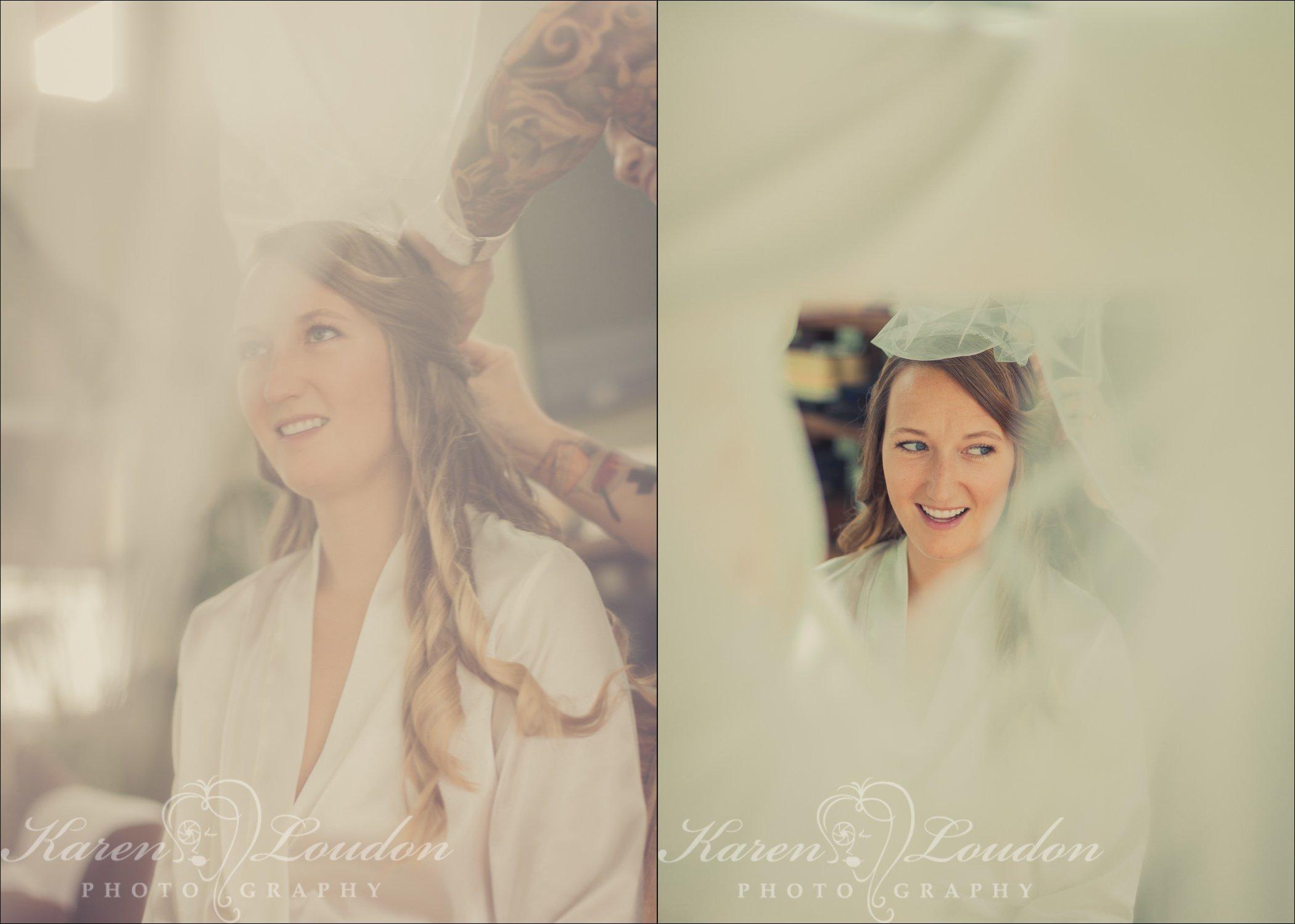 Bride veil Hawaii