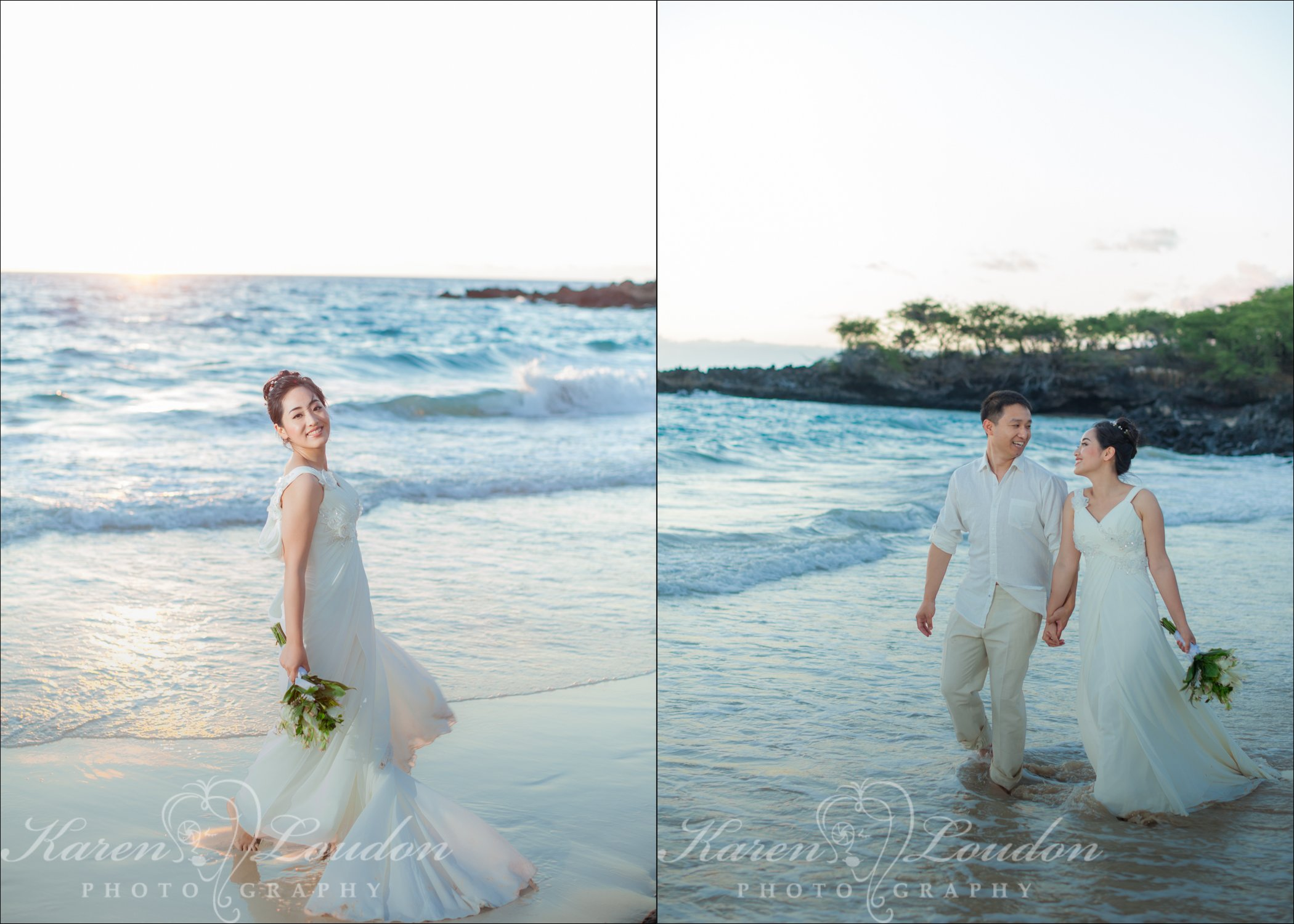 Hapuna beach wedding photos