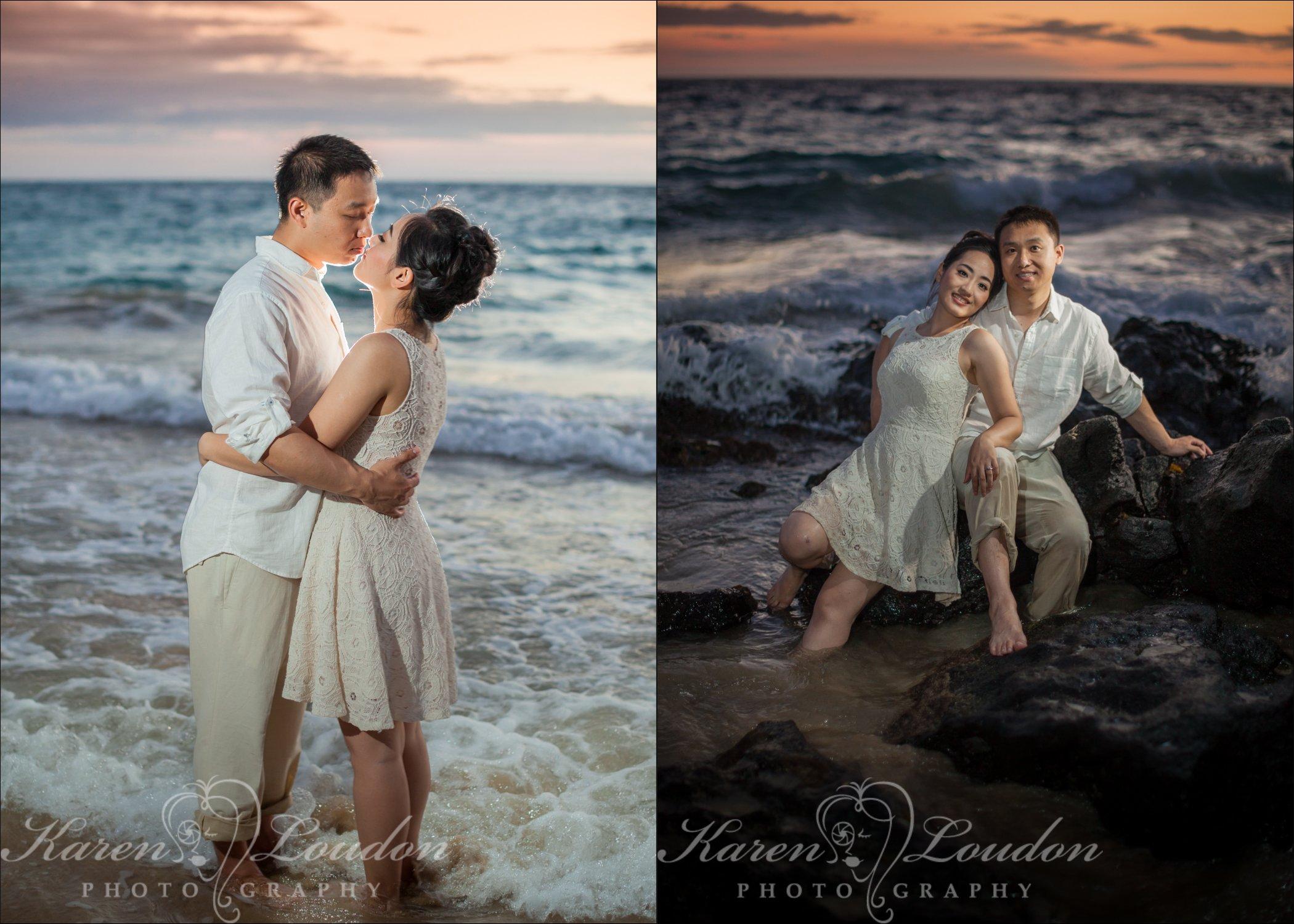 Hapuna beach wedding