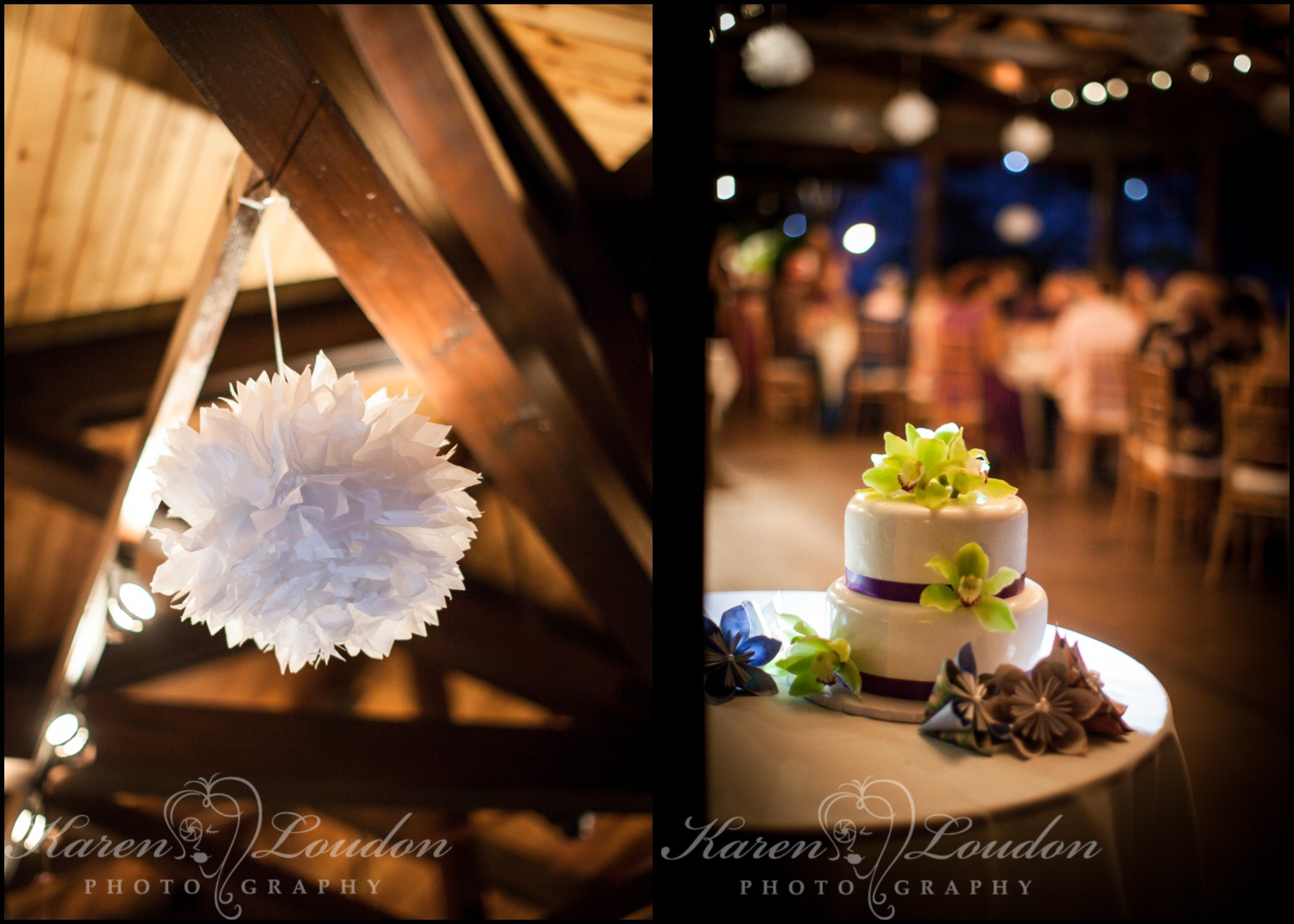 Holualoa Inn wedding reception