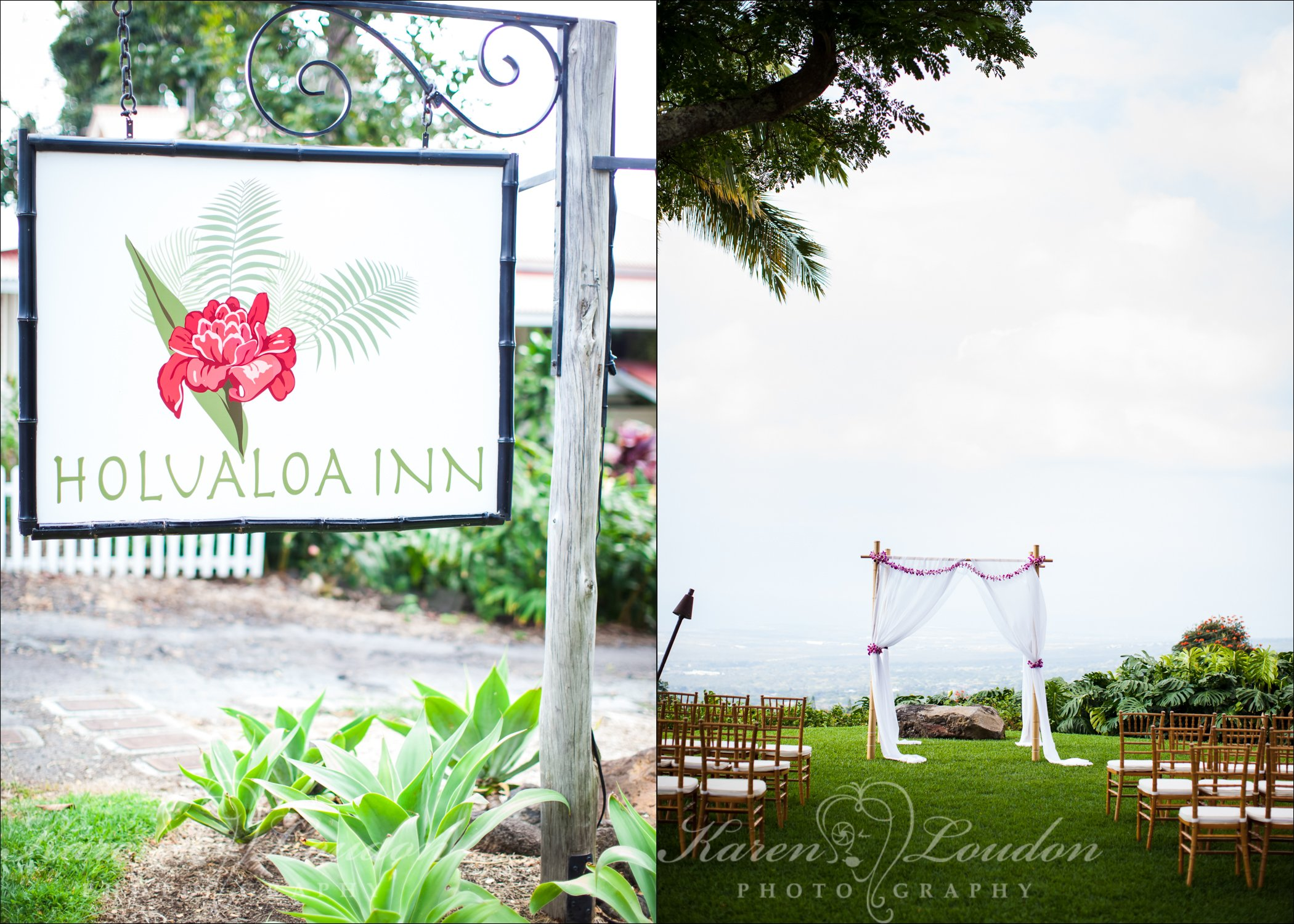 Holualoa Inn wedding