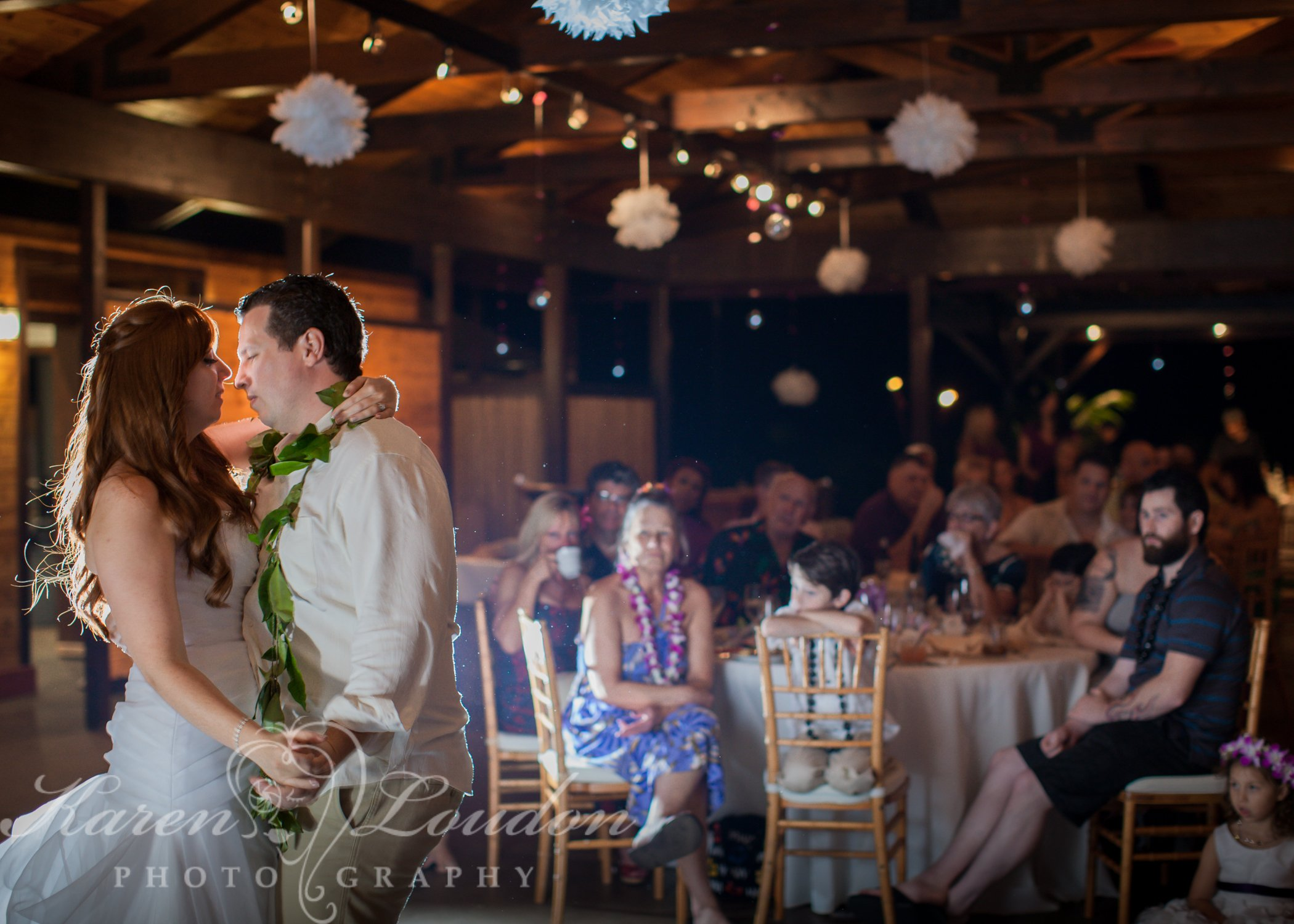 Holualoa first dance