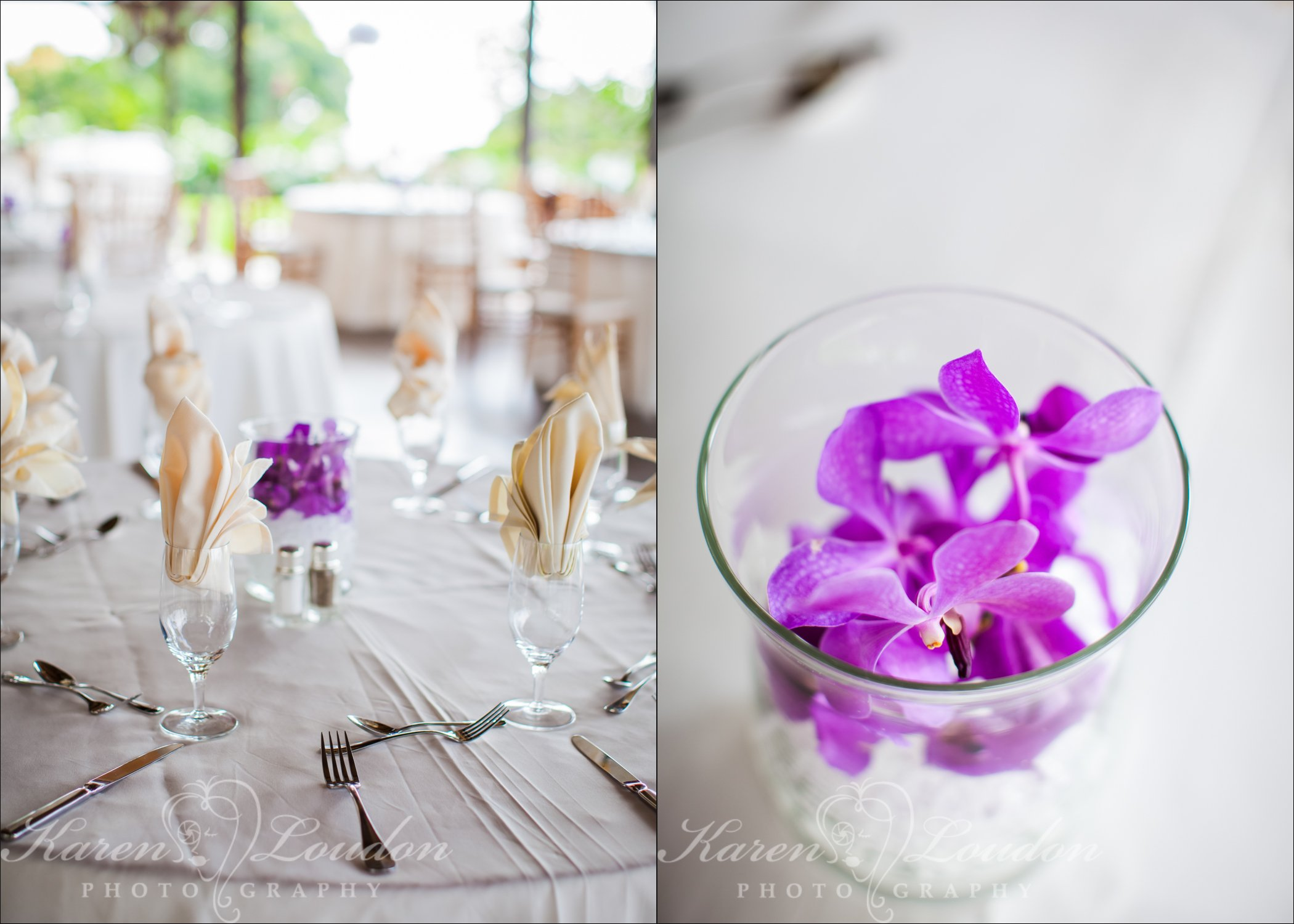 Holualoa reception flowers