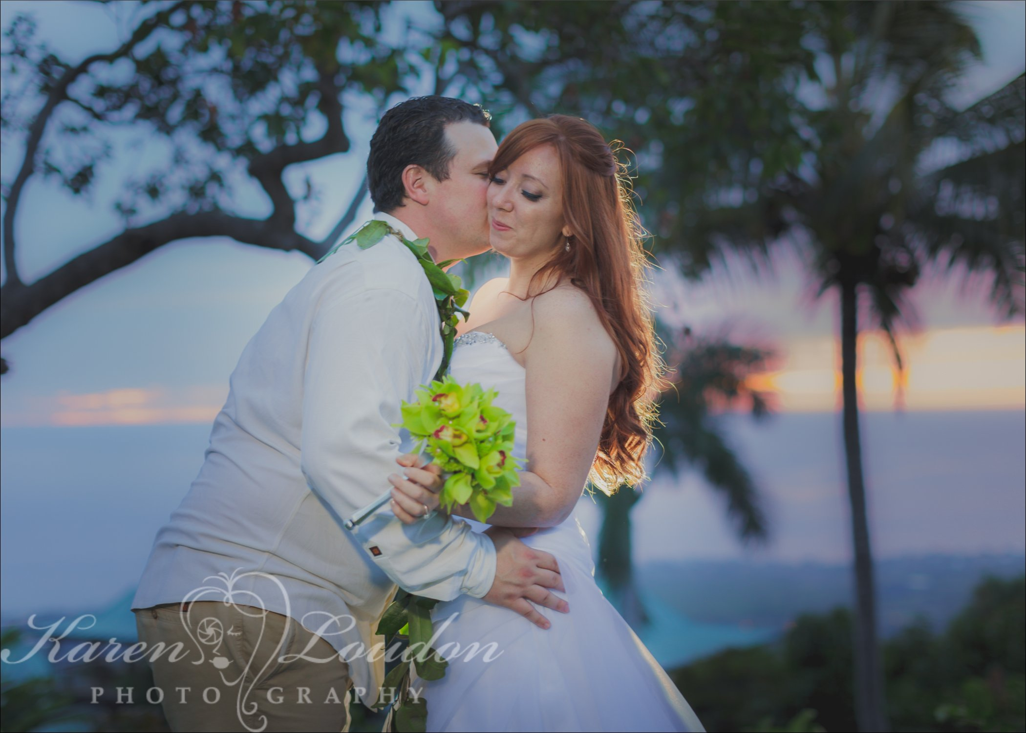 Holualoa sunset © Karen Loudon Photography
