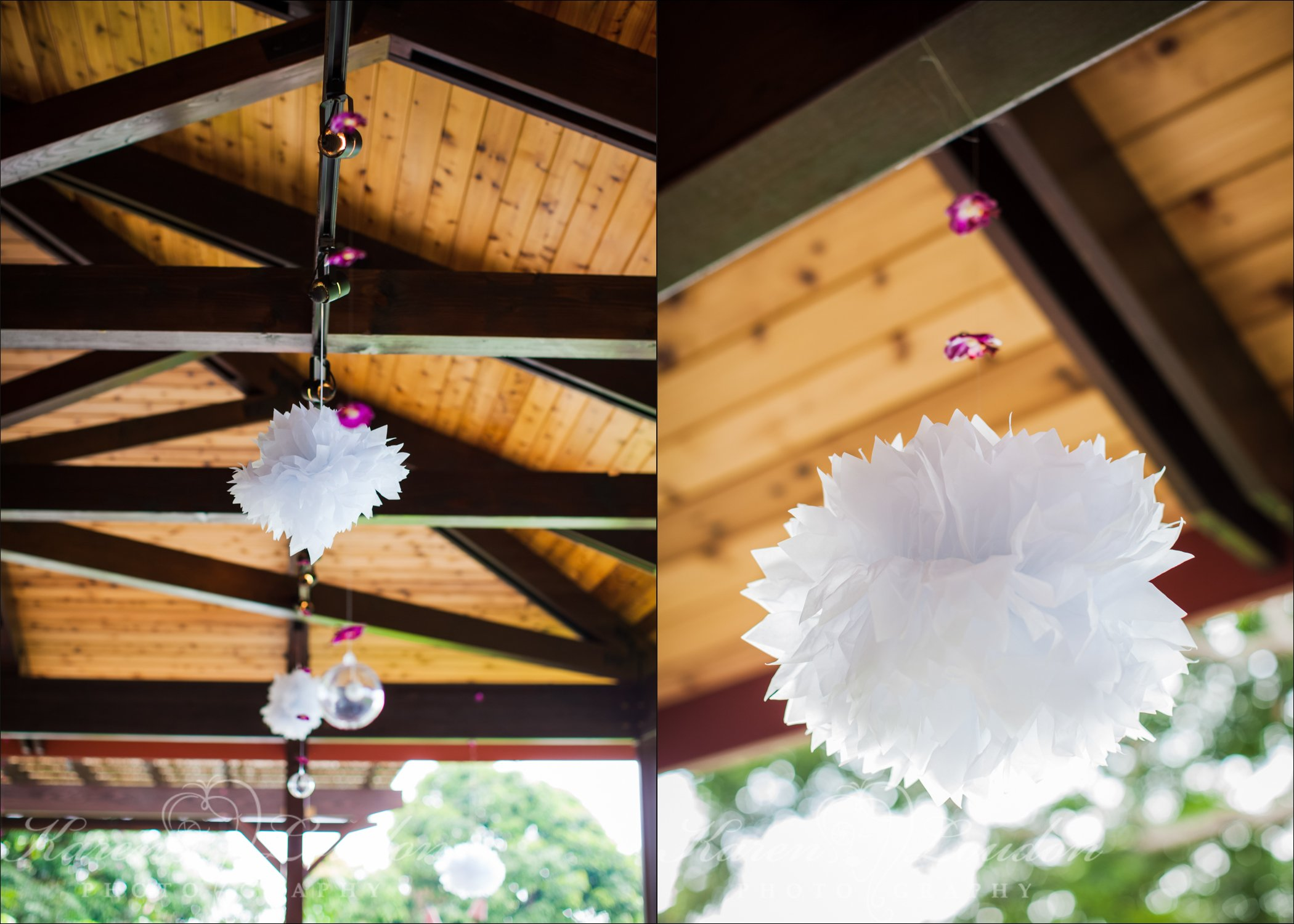 Holualoa wedding decor