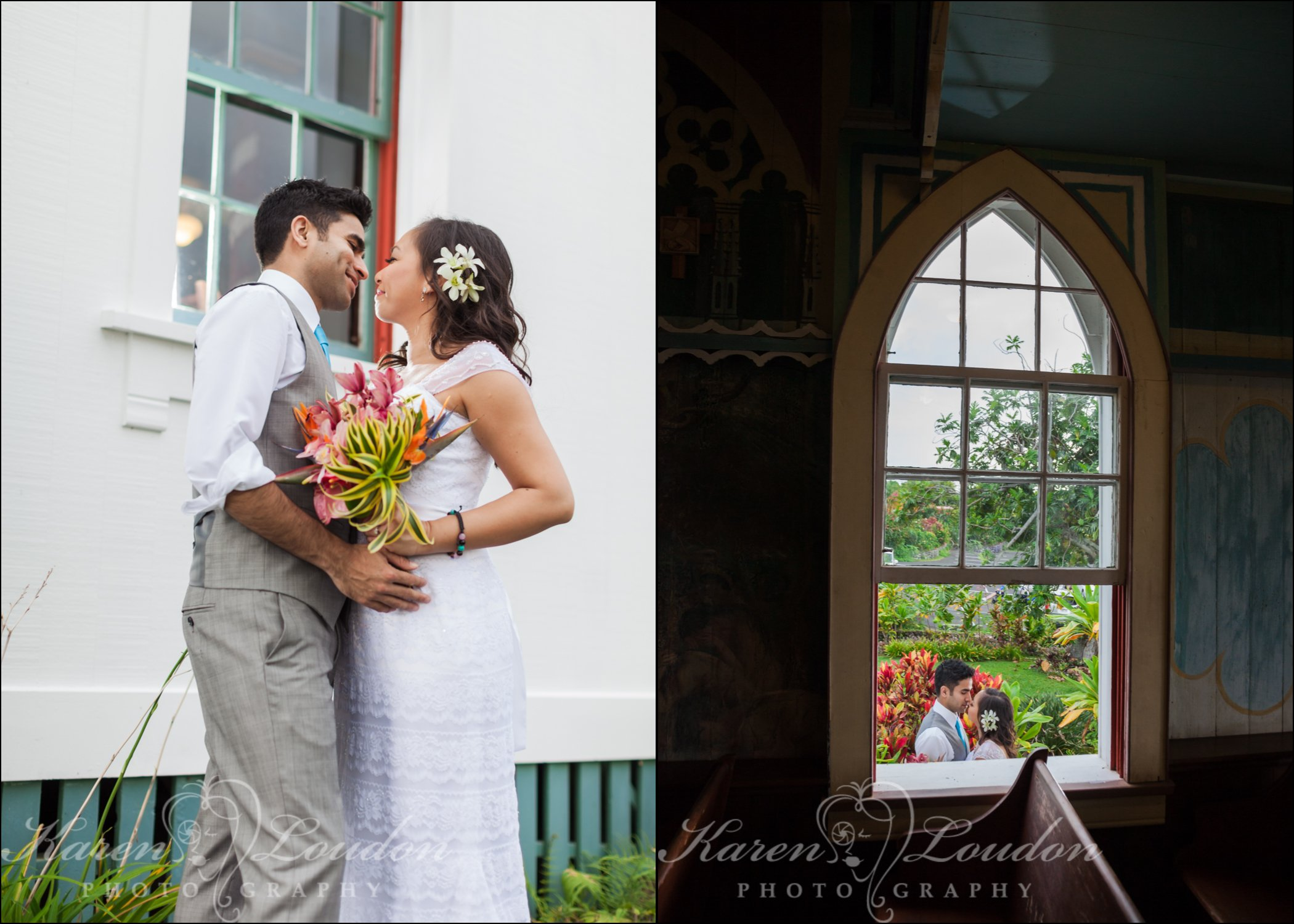 Big Island Hawaii Catholic wedding