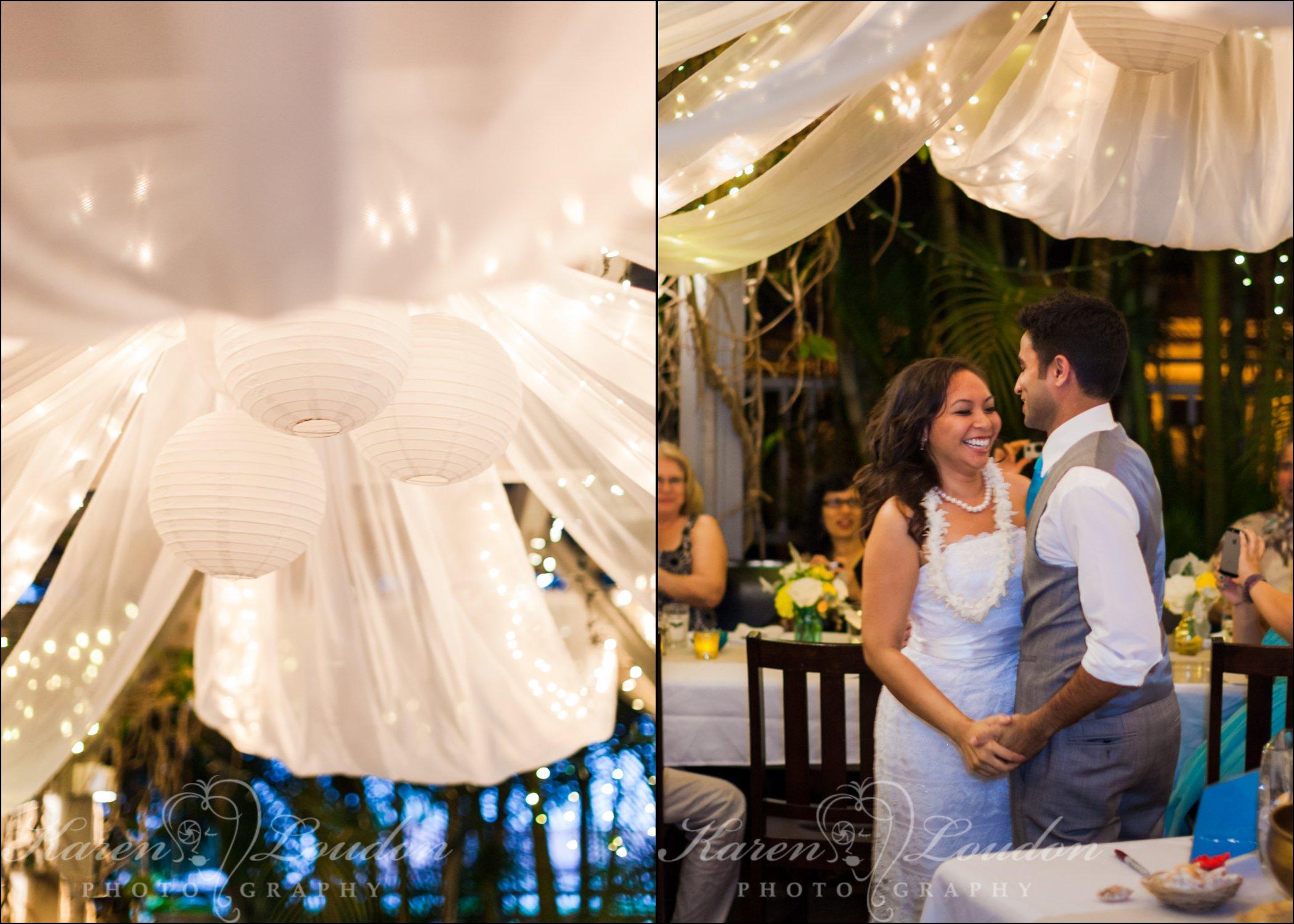 Holuakoa cafe wedding