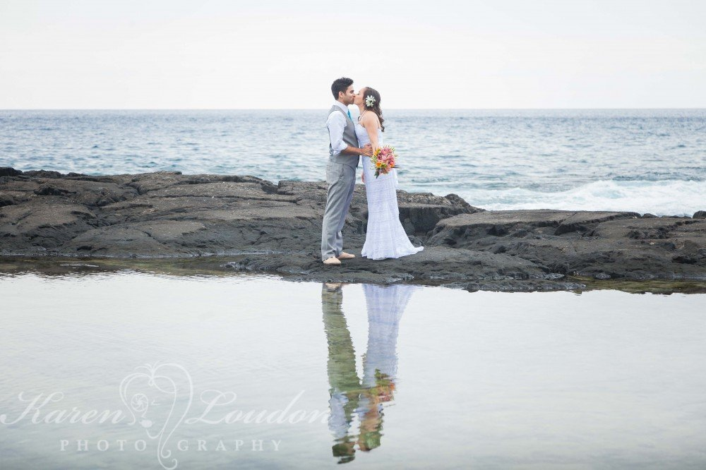 Honaunau wedding © Karen Loudon photography