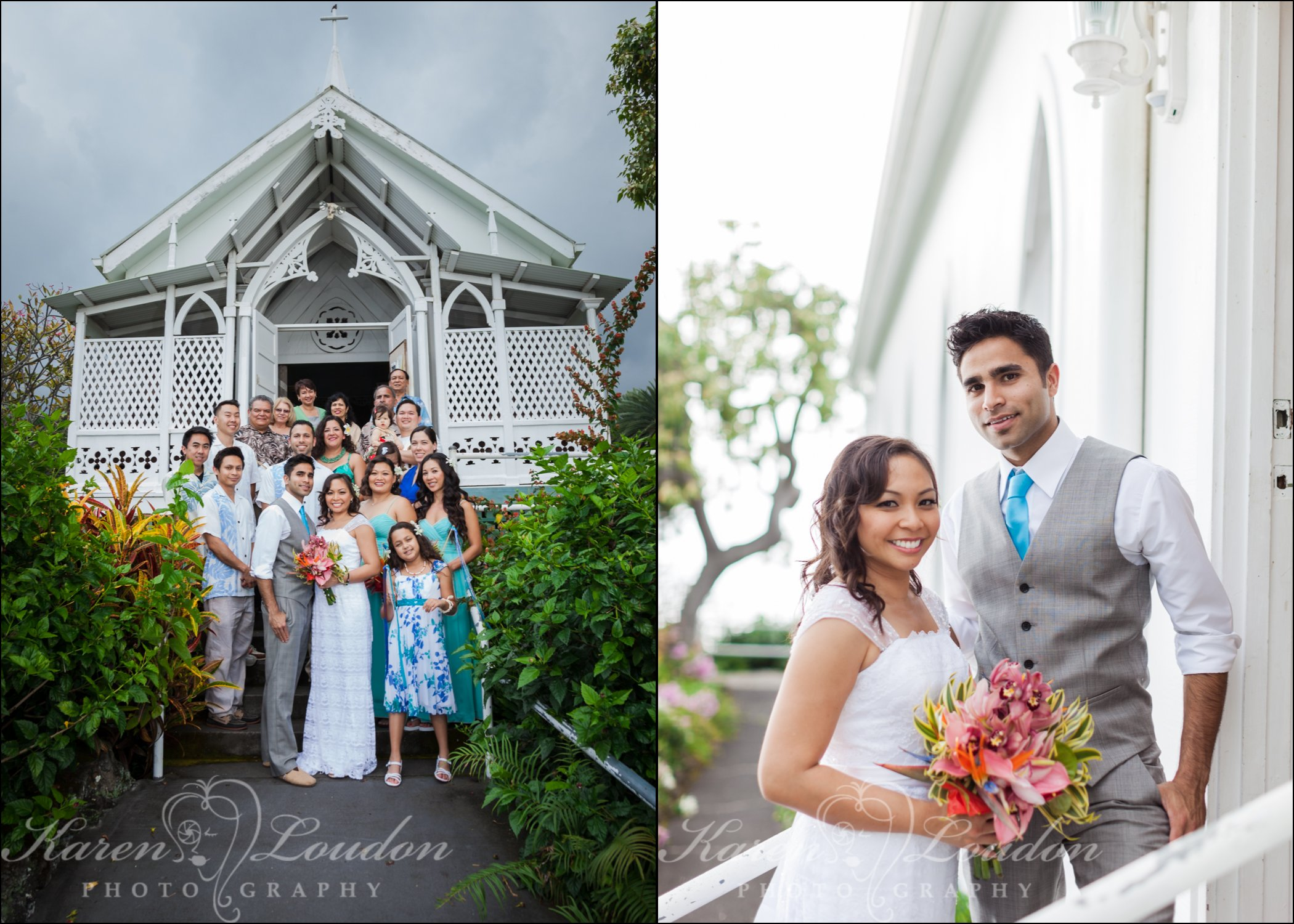 St. Benedict's Painted Church wedding