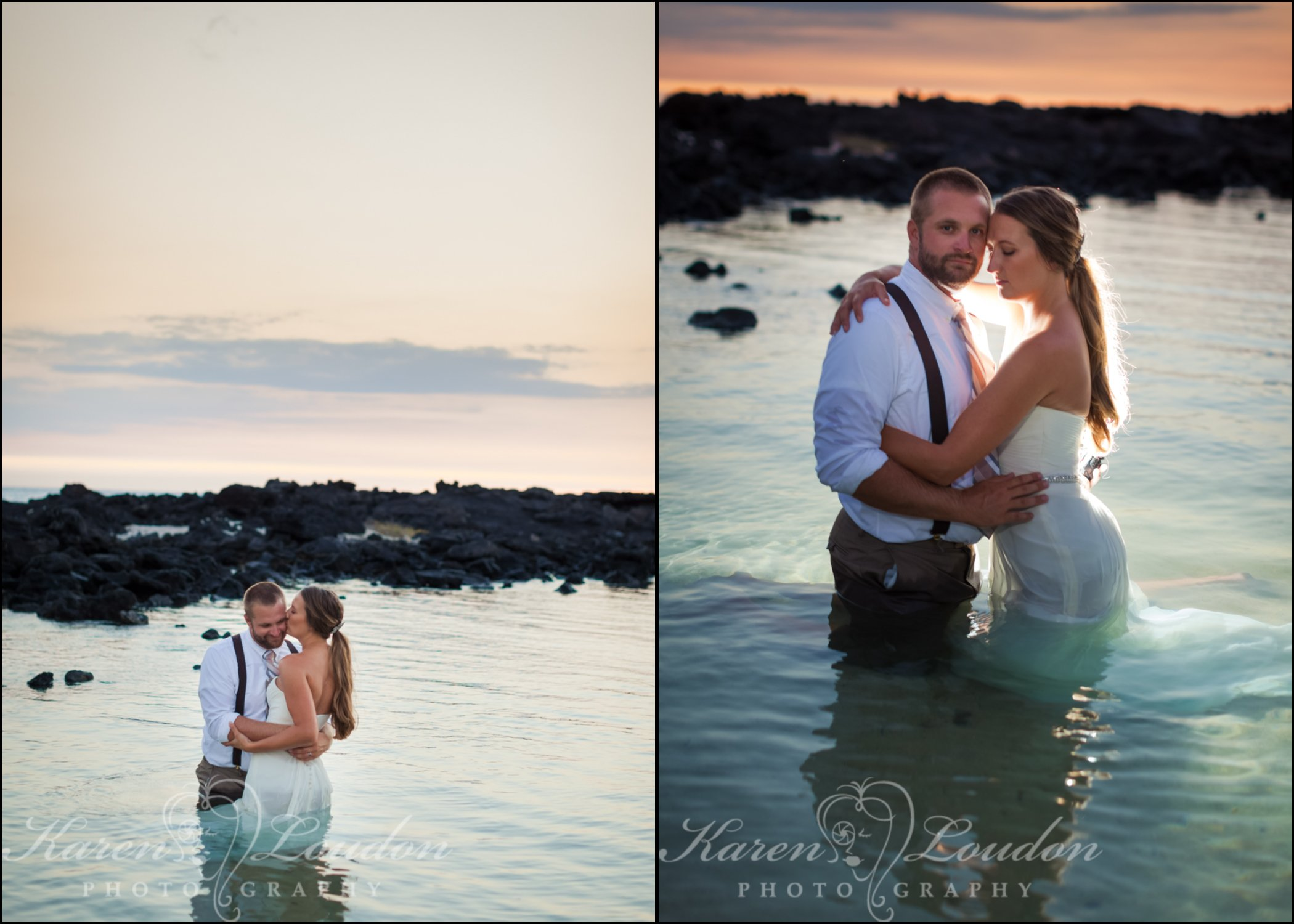 Trash the dress Waikoloa