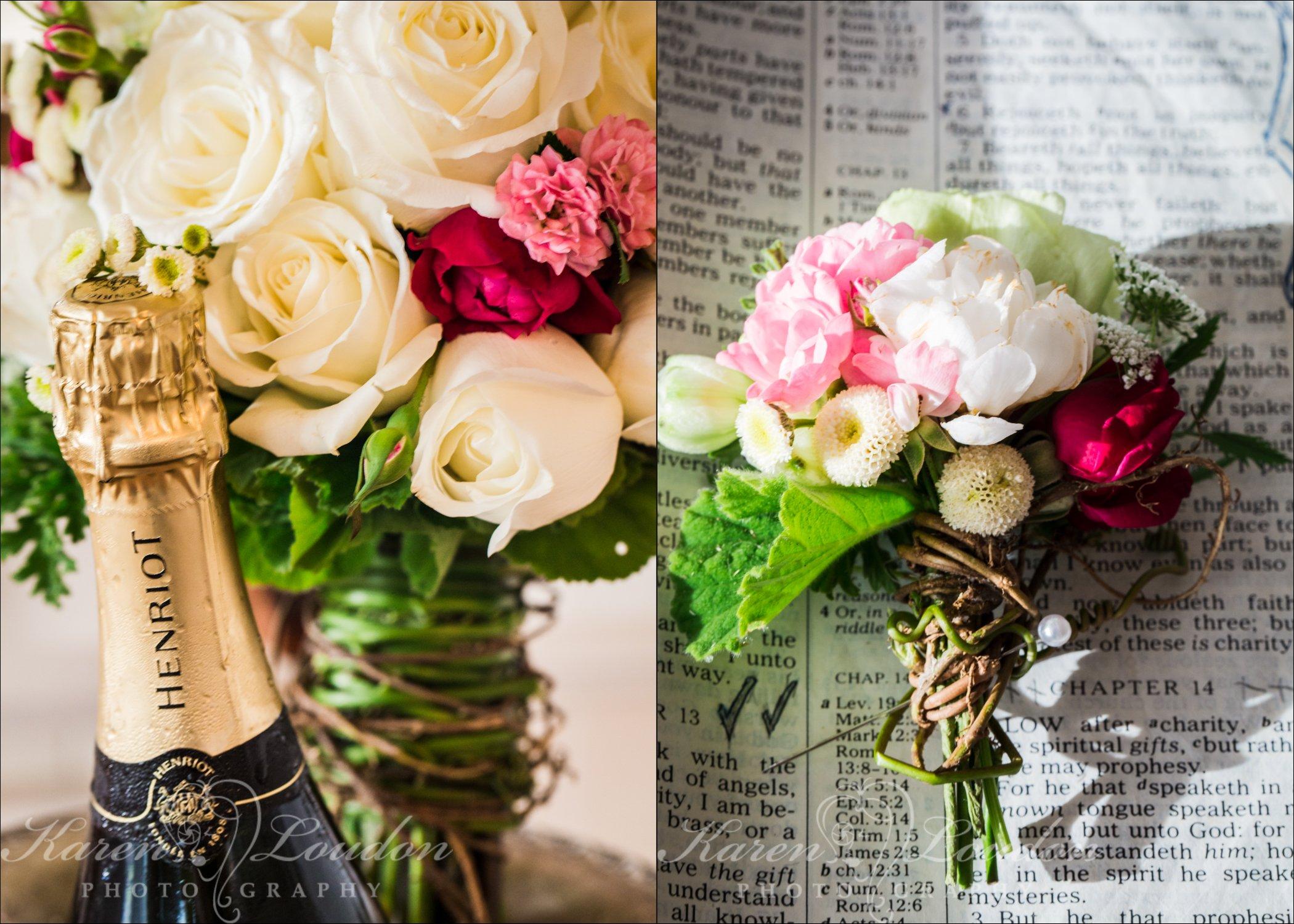 Kona wedding bouquet