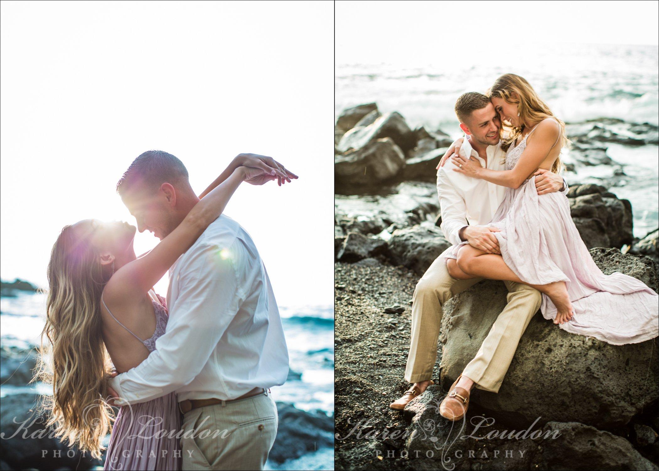 Sheraton, Photographer, Kona, Engagement, Love