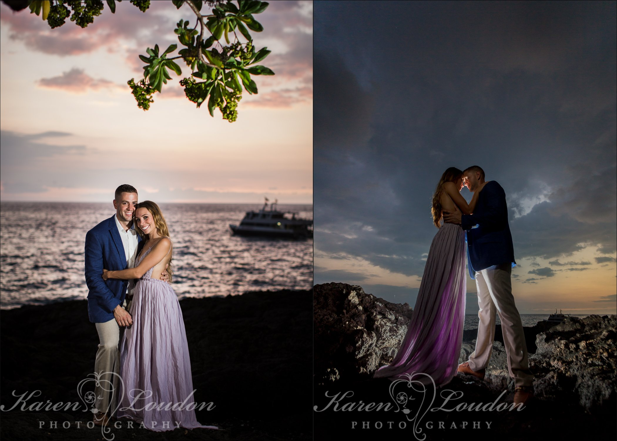 Kona, Photography, Engagement, Sheraton, Hawaii, Big Island