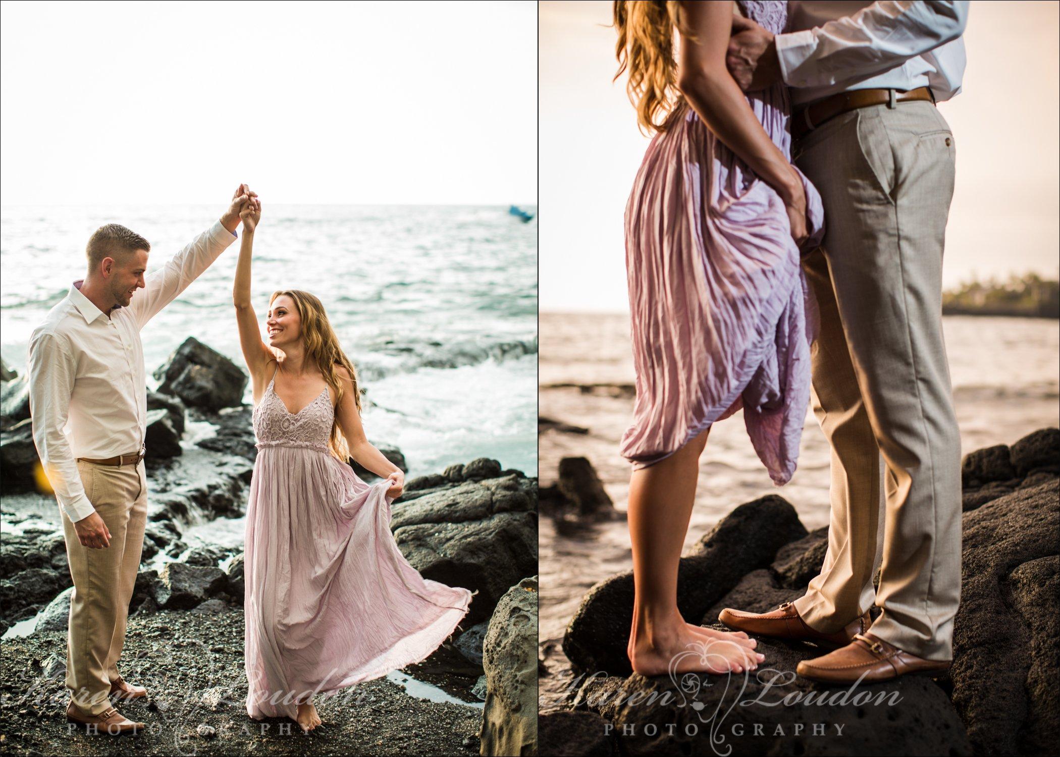 Photography, Kona, Hawaii, Big Island, Engagement