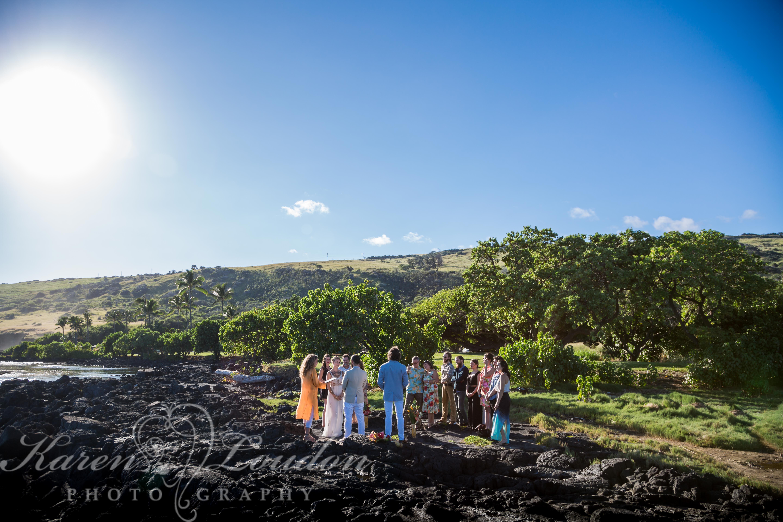 Whittington wedding Hawaii