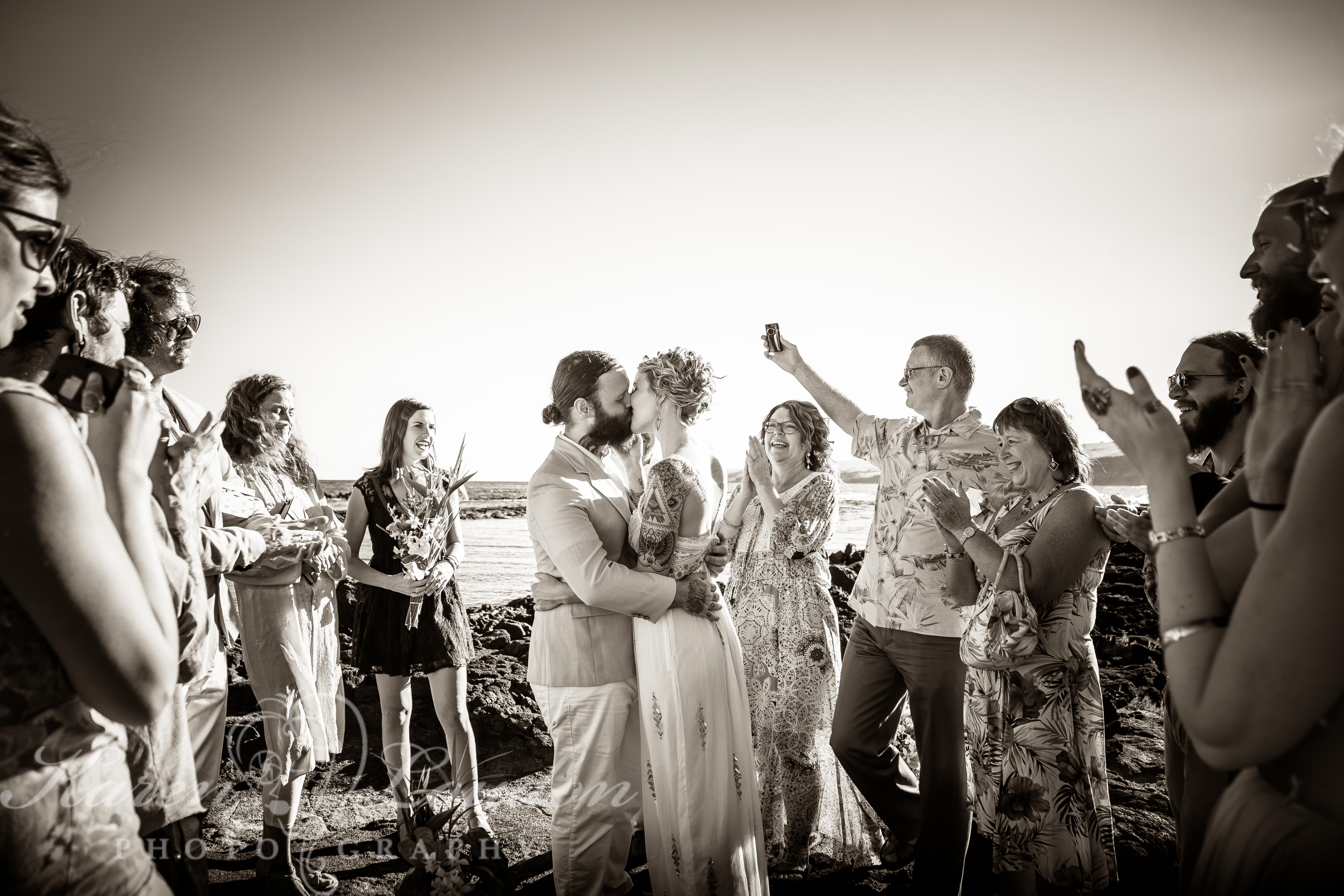 Hawaii wedding photography South Point