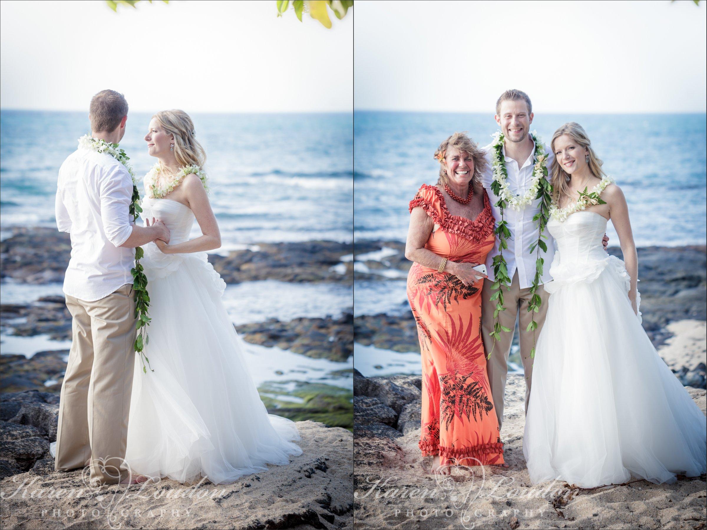 Kukio Beach Big Island Hawaii Wedding Ceremony