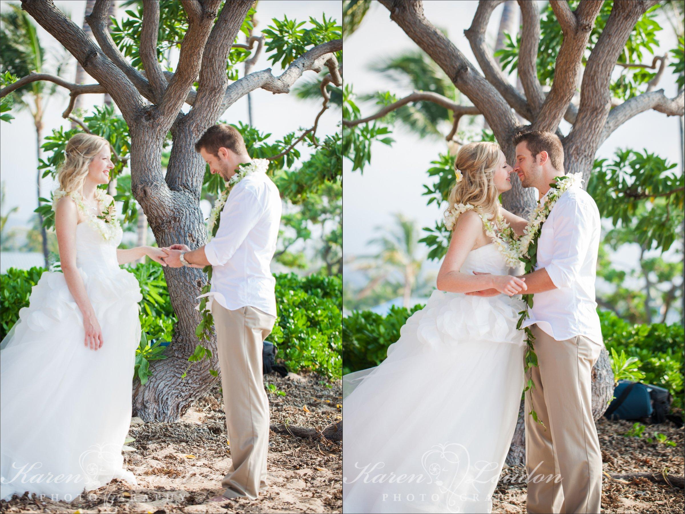 Kukio Beach Elopement Big Island Hawaii Wedding Photography
