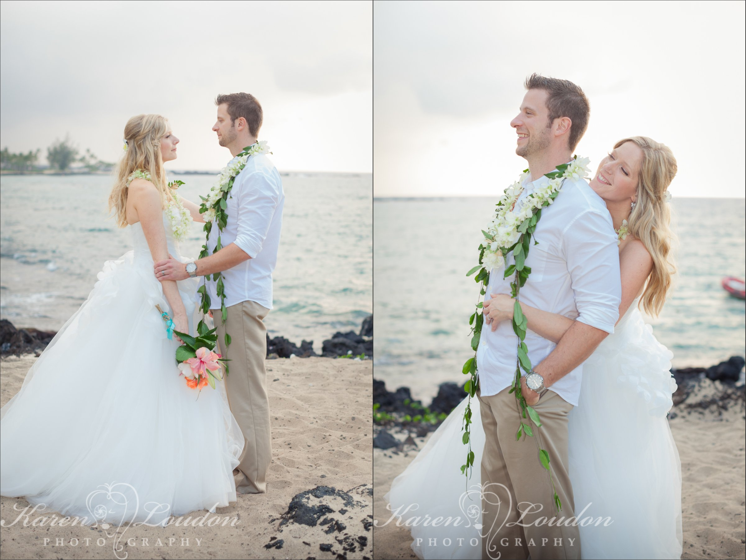 Kukio Beach Big Island Hawaii Wedding Photography