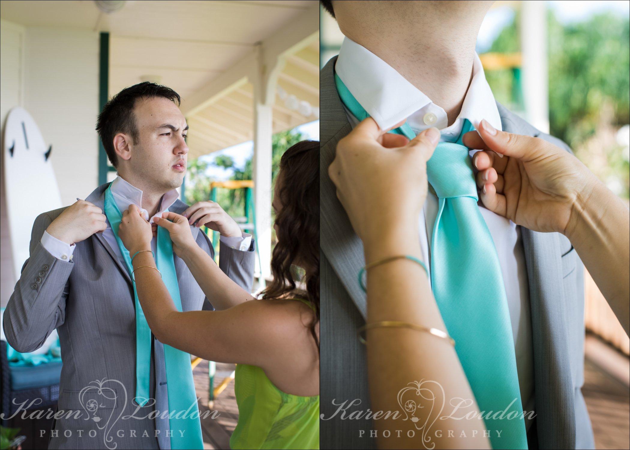 Hilo Hawaii Groom Wedding Photography