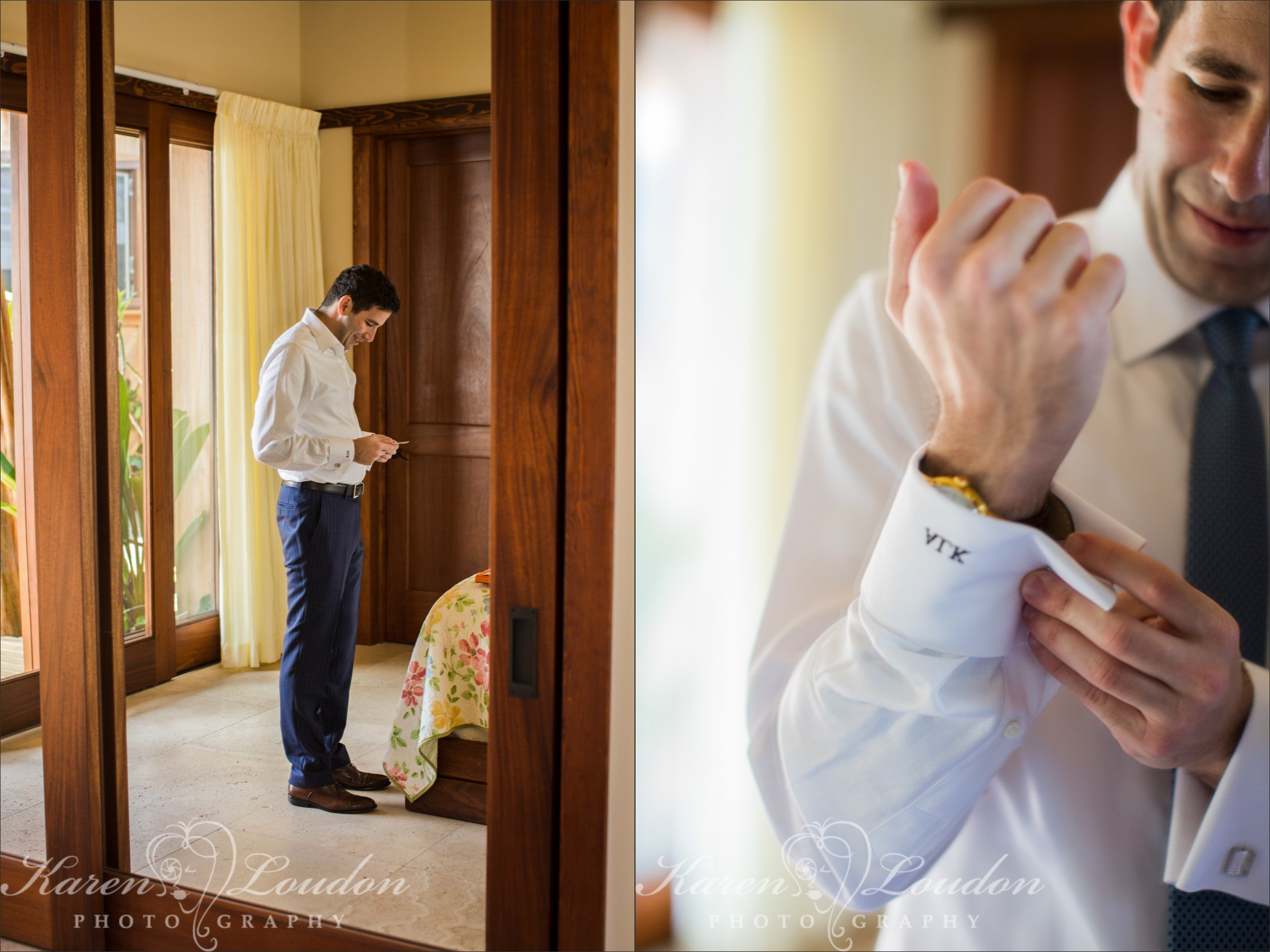 Kona Groom Wedding photographer