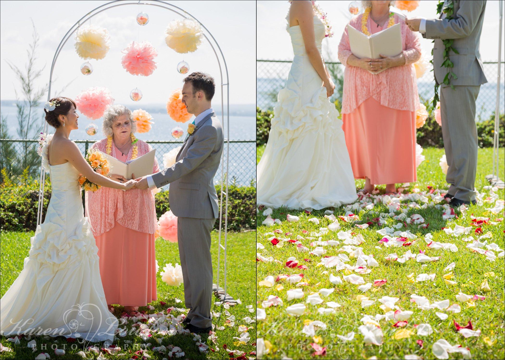 Hilo Wedding Ceremony Photographer