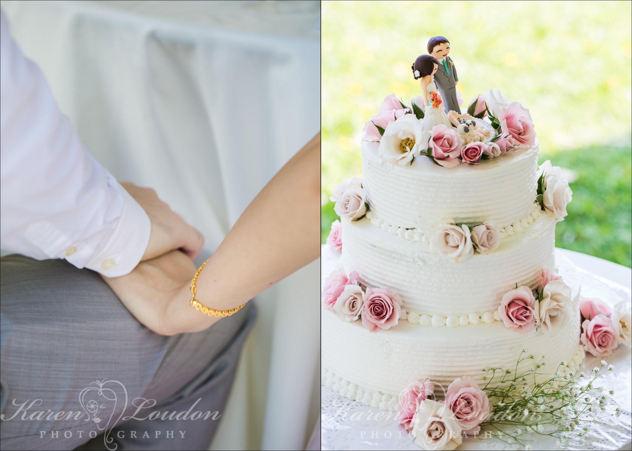 Hilo Hawaii Wedding Cake