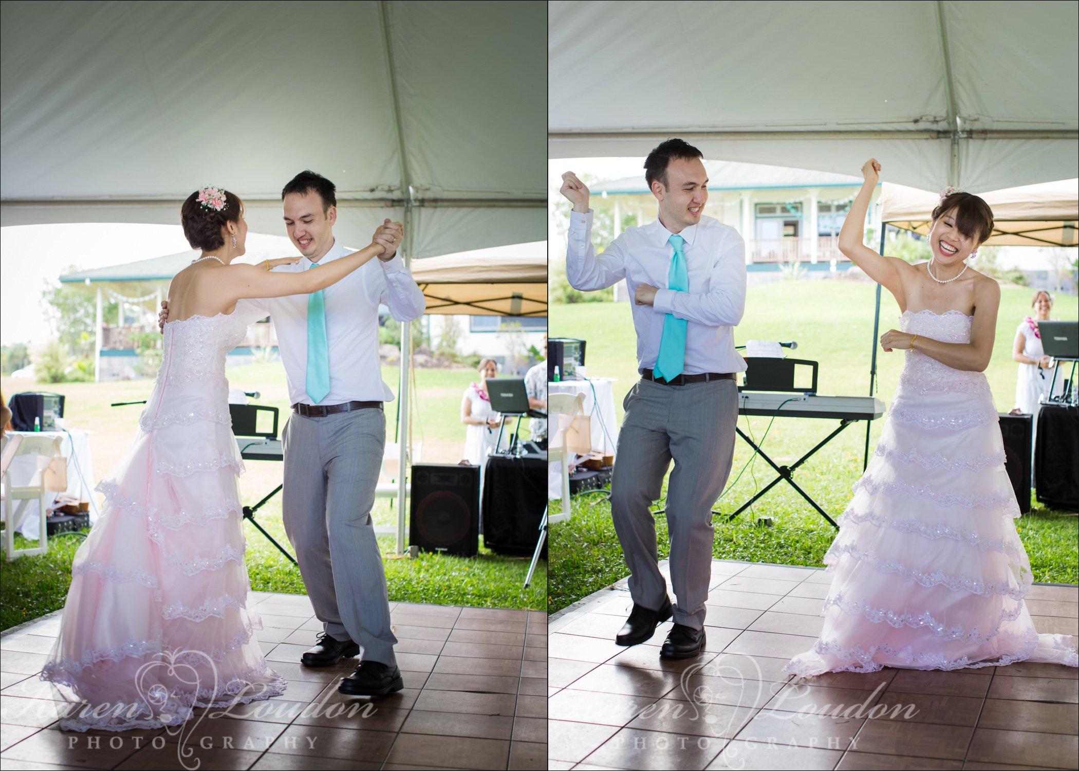 Hilo Hawaii Wedding Reception Photographer