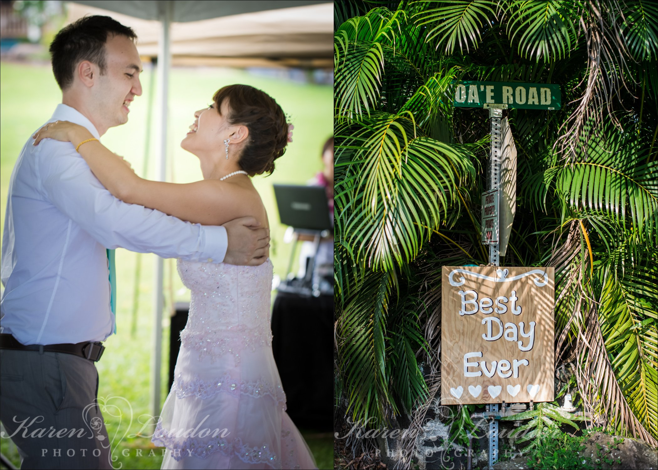 Hilo Wedding First Dance Photographer