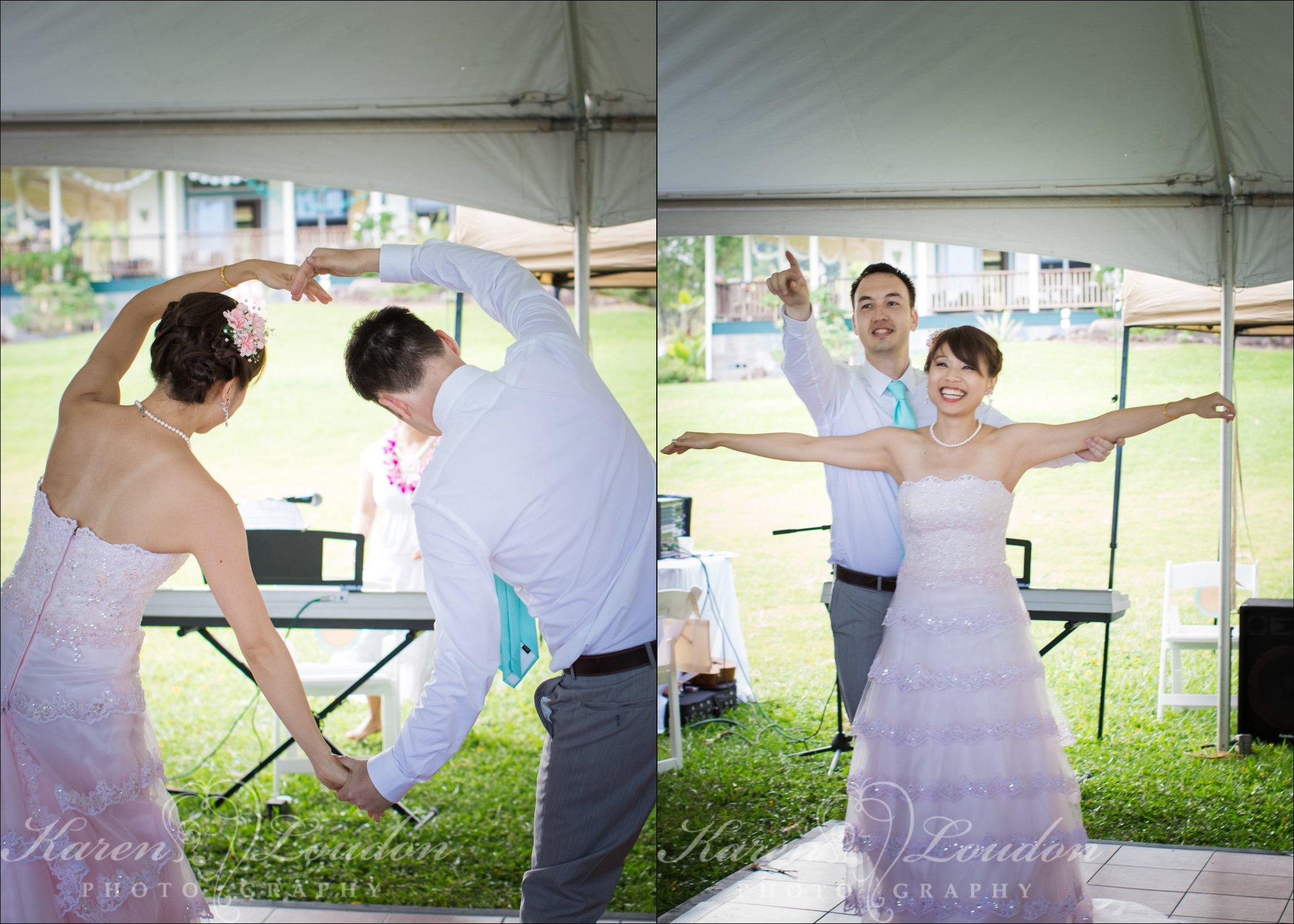 Hilo Wedding Dance Photography