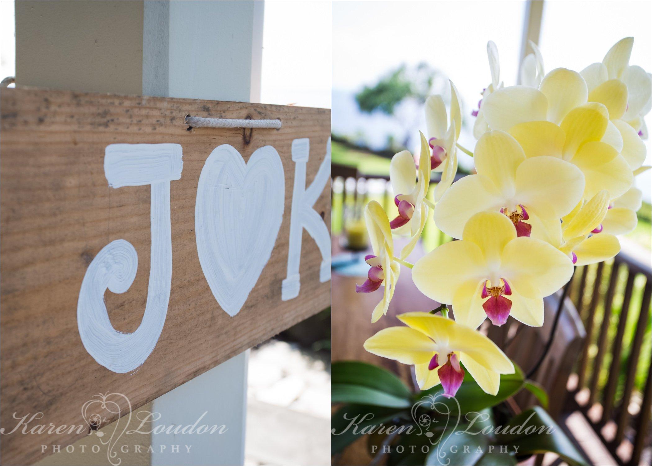 Big Island Hawaii Wedding Flower Photography