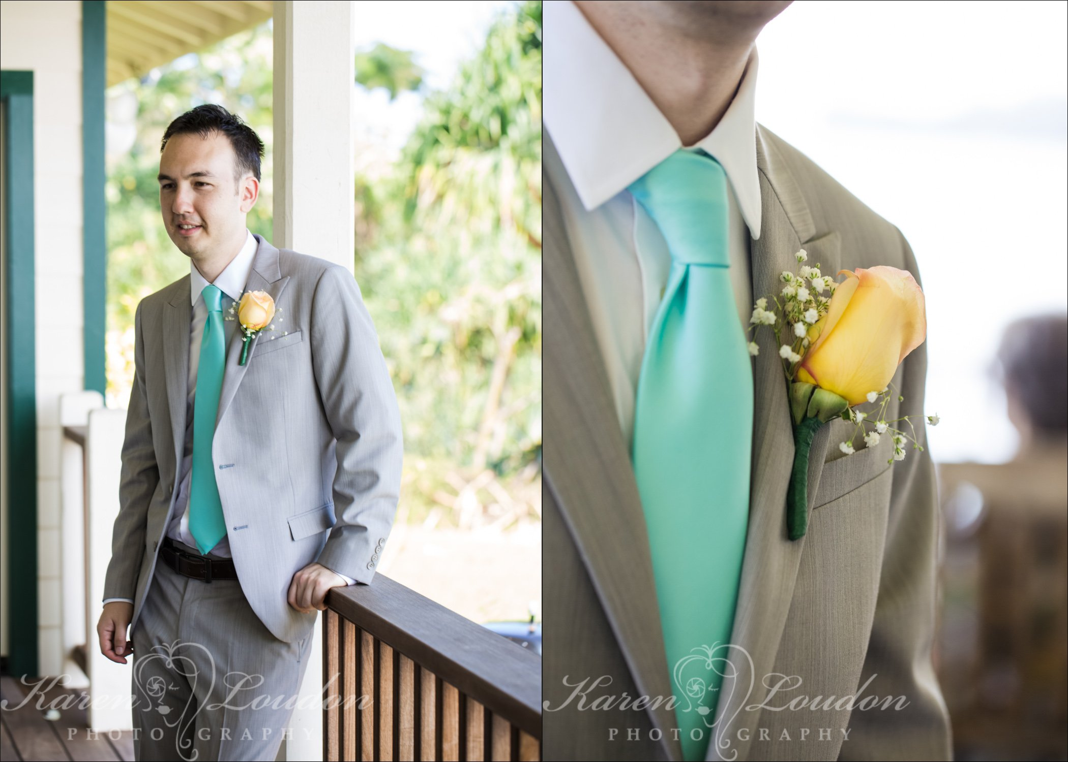 Hilo Hawaii Wedding Groom Photography