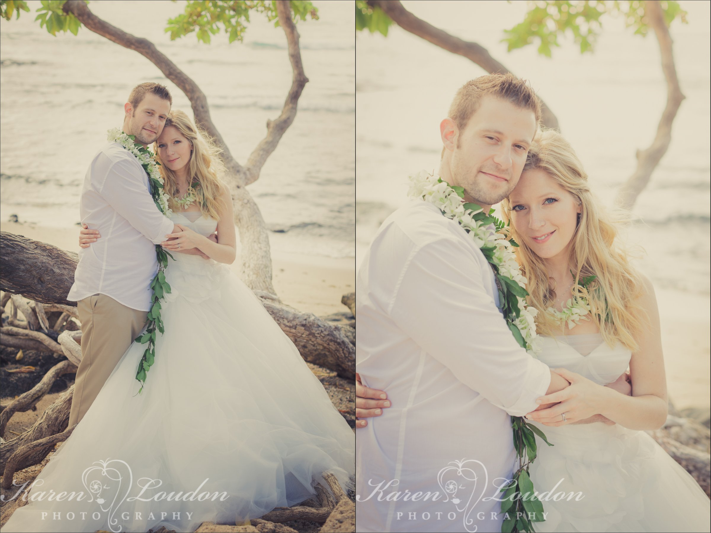 Kukio Bay Elopement Big Island Hawaii