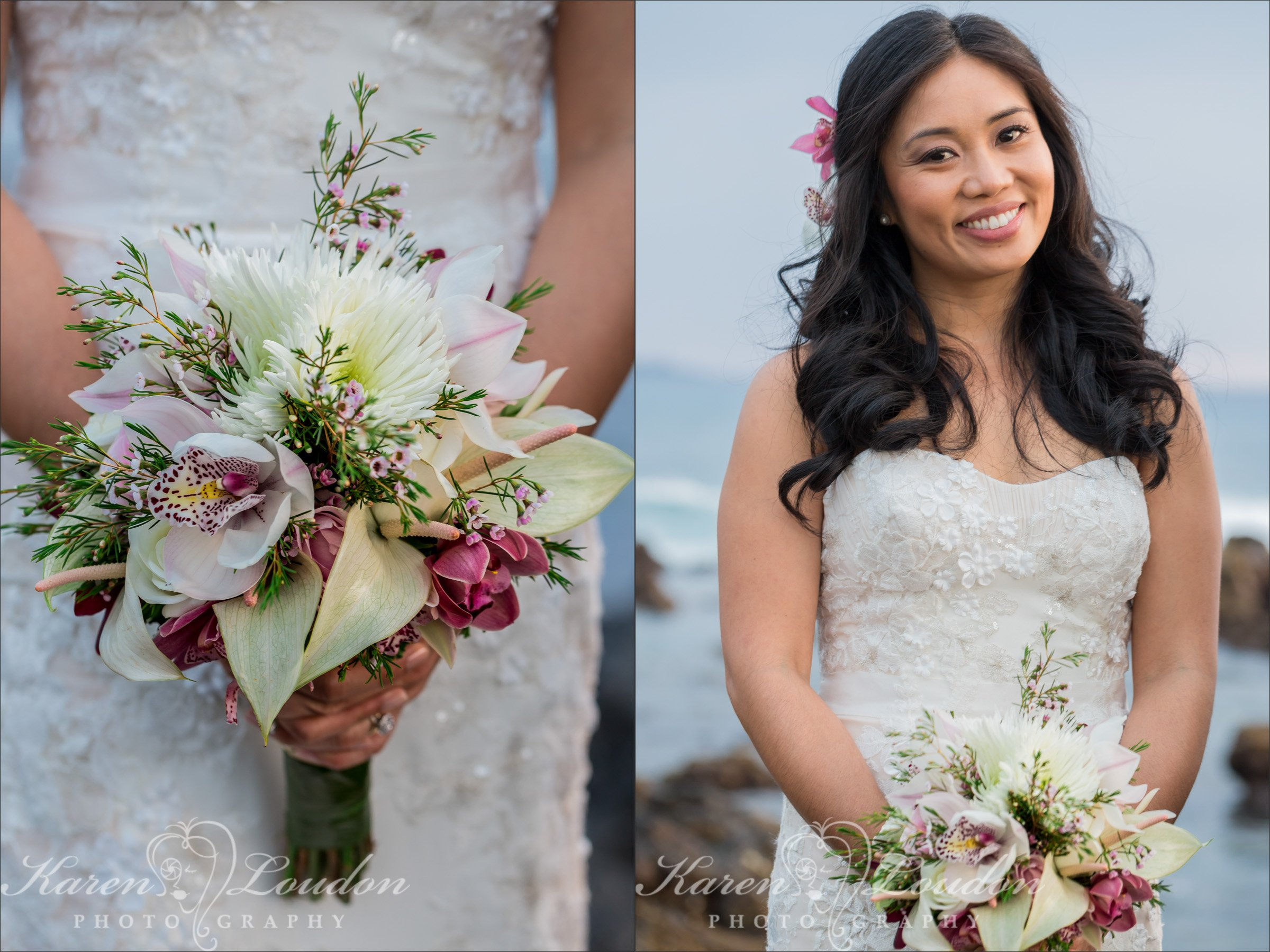 Big Island wedding flowers photographers