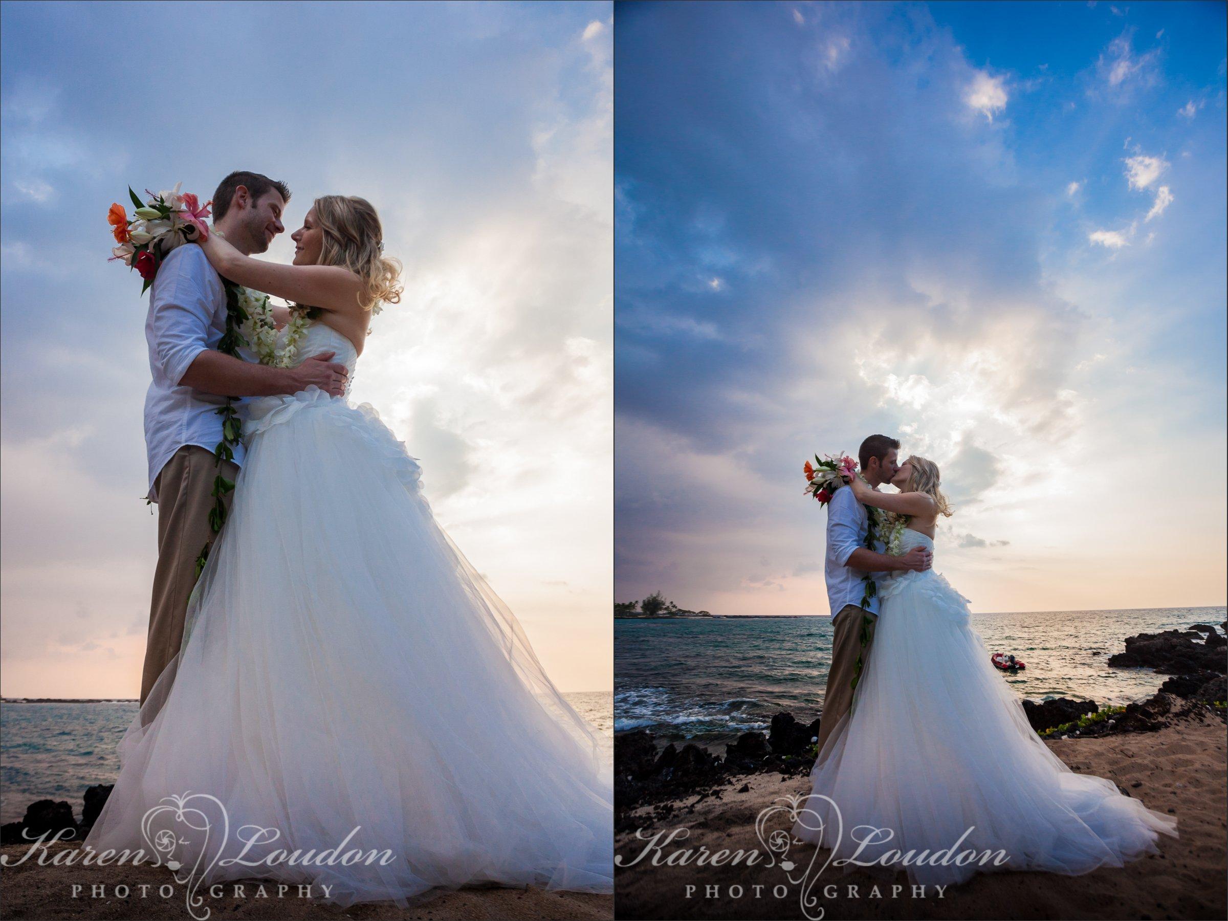 Kukio Beach Four Seasons Wedding Photography