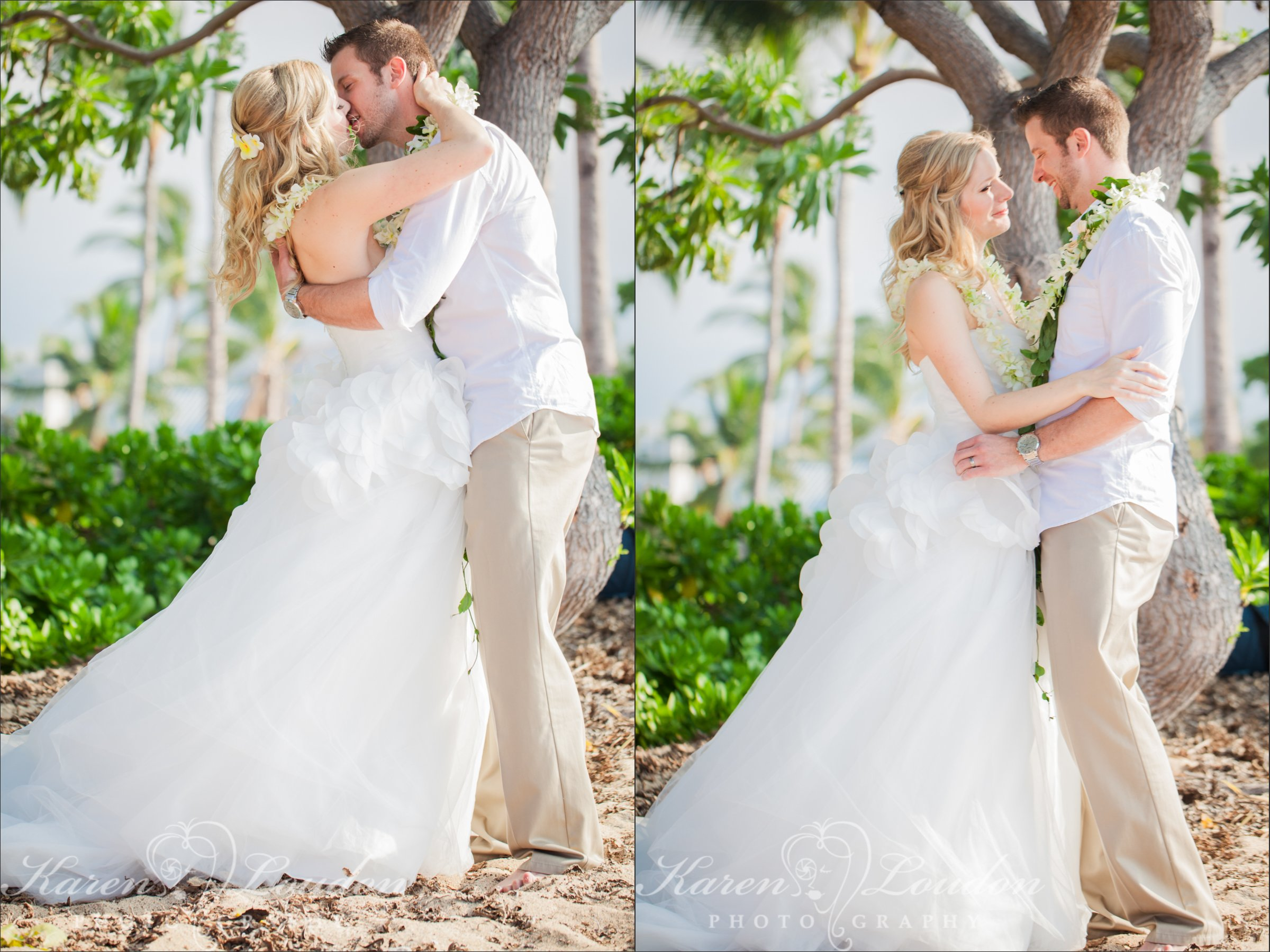 Kukio Beach Big Island Hawaii Wedding Photographer