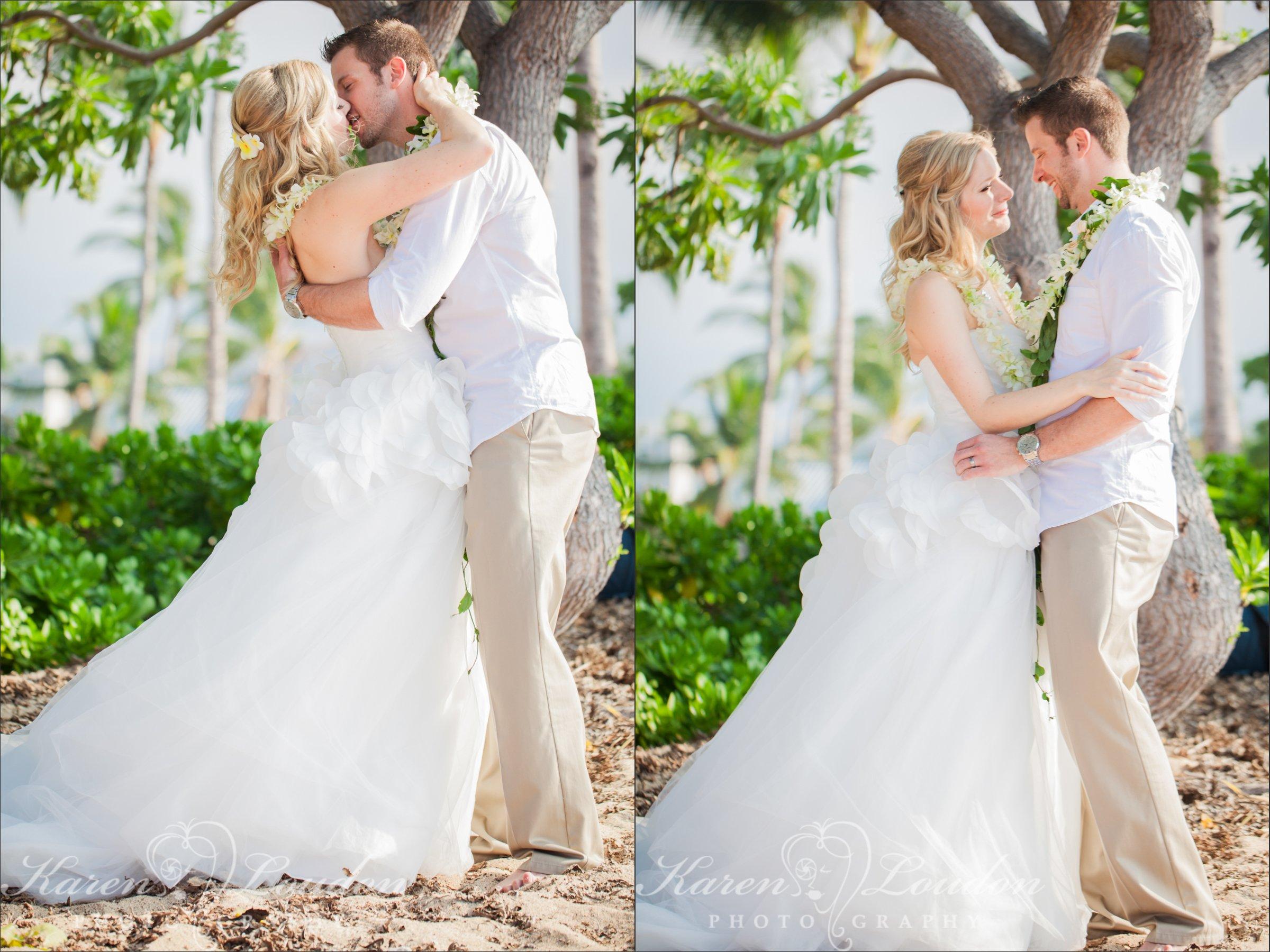 Kukio Beach Big Island Hawaii Wedding Photographer