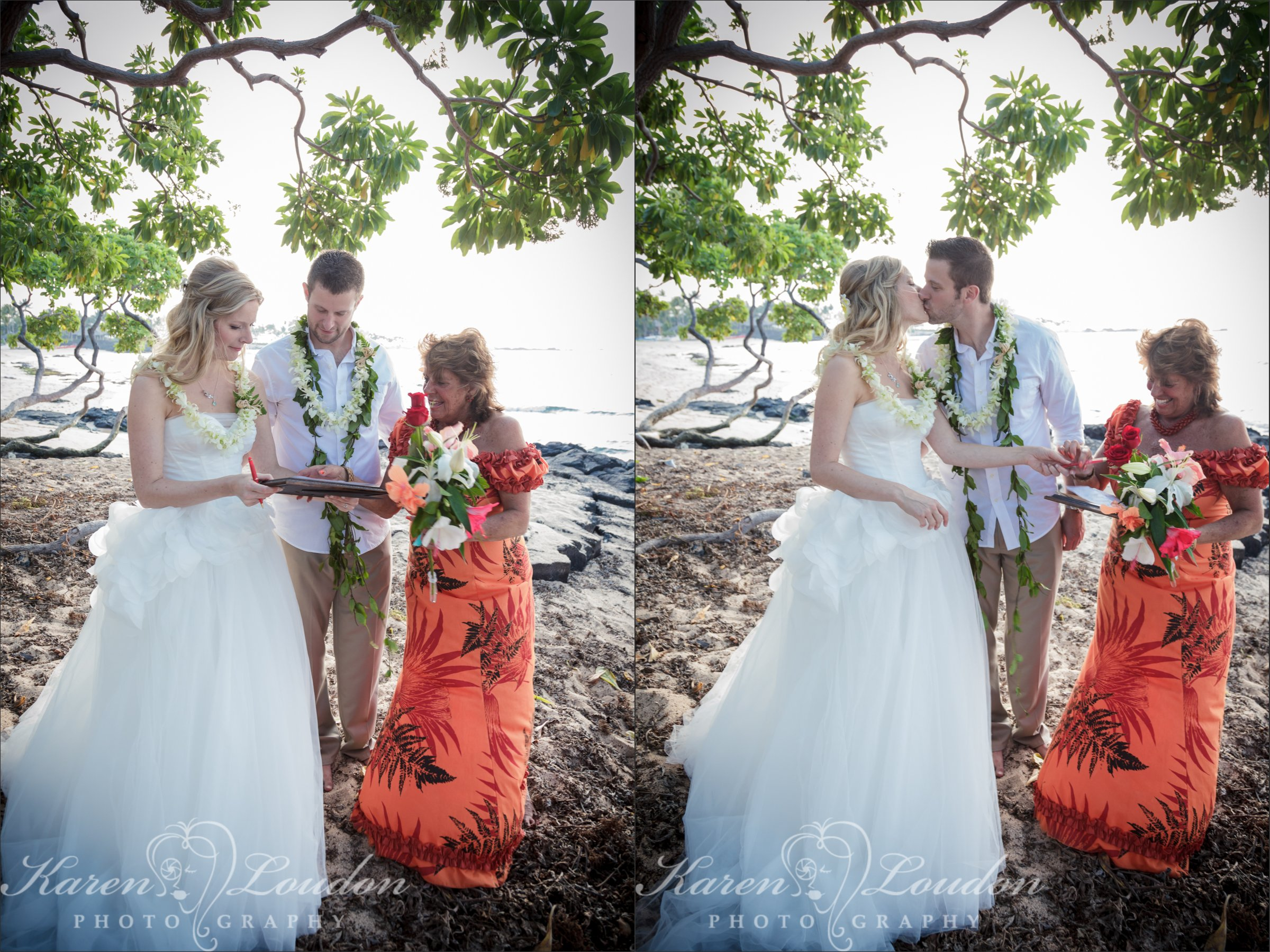 Big Island Wedding Photography Kukio Beach