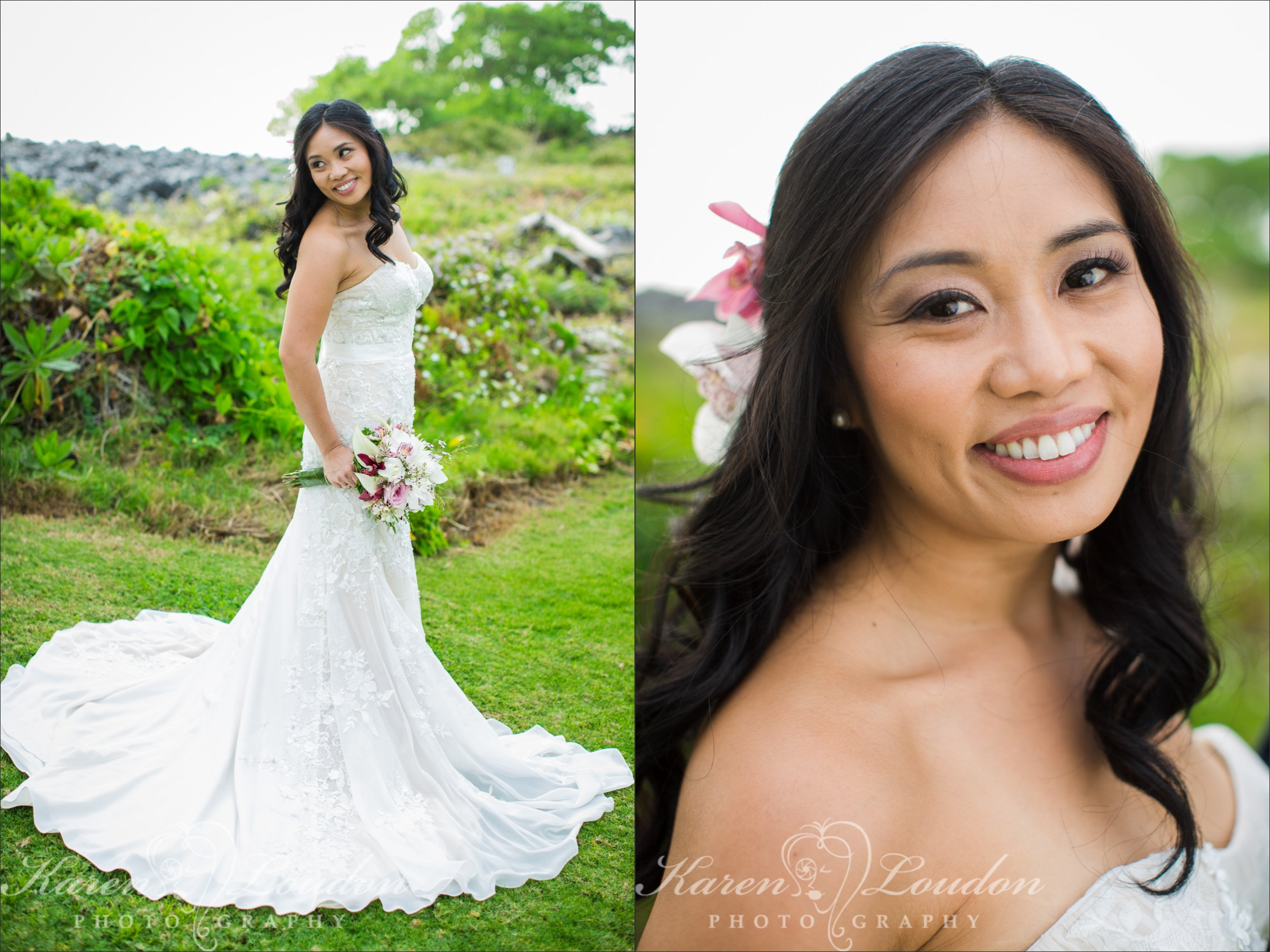 Vacation Rental Wedding Big Island Photography