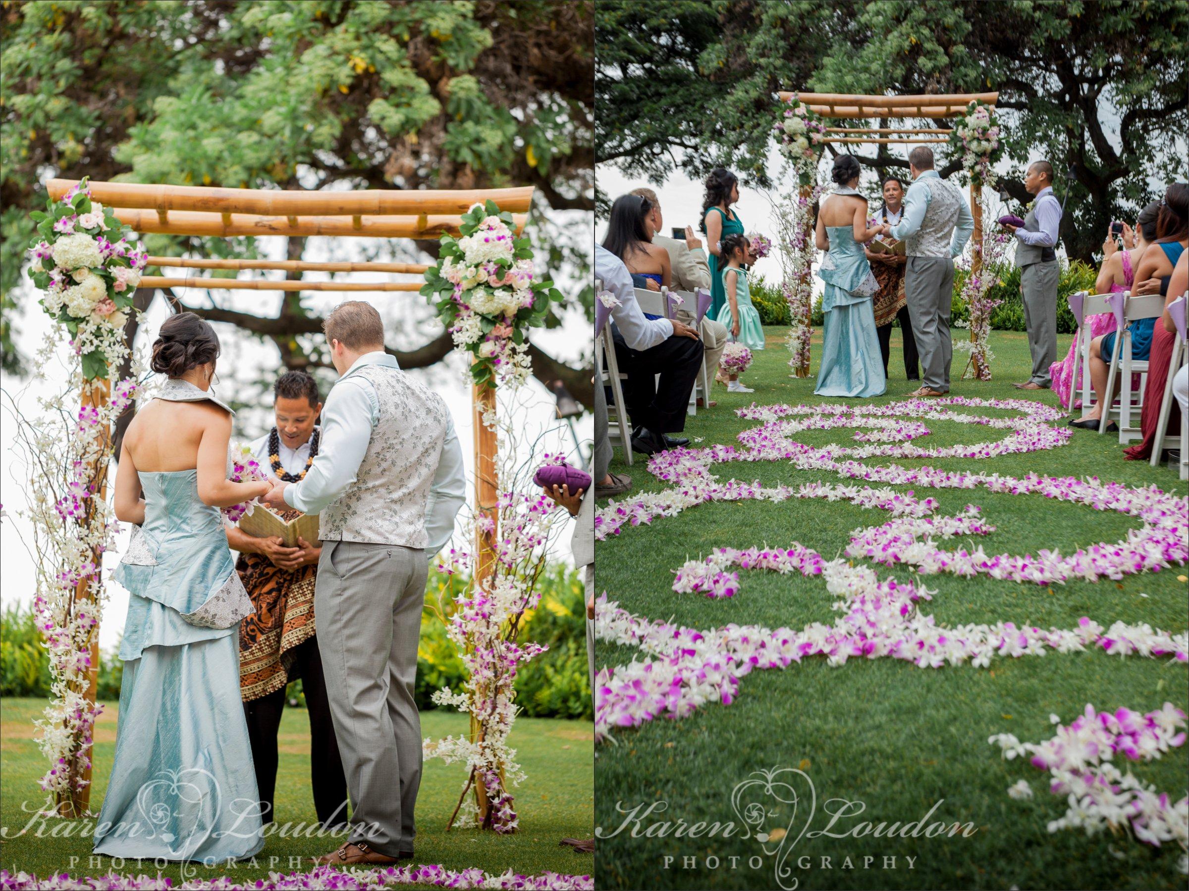 Sheraton Wedding Vows Kailua Kona